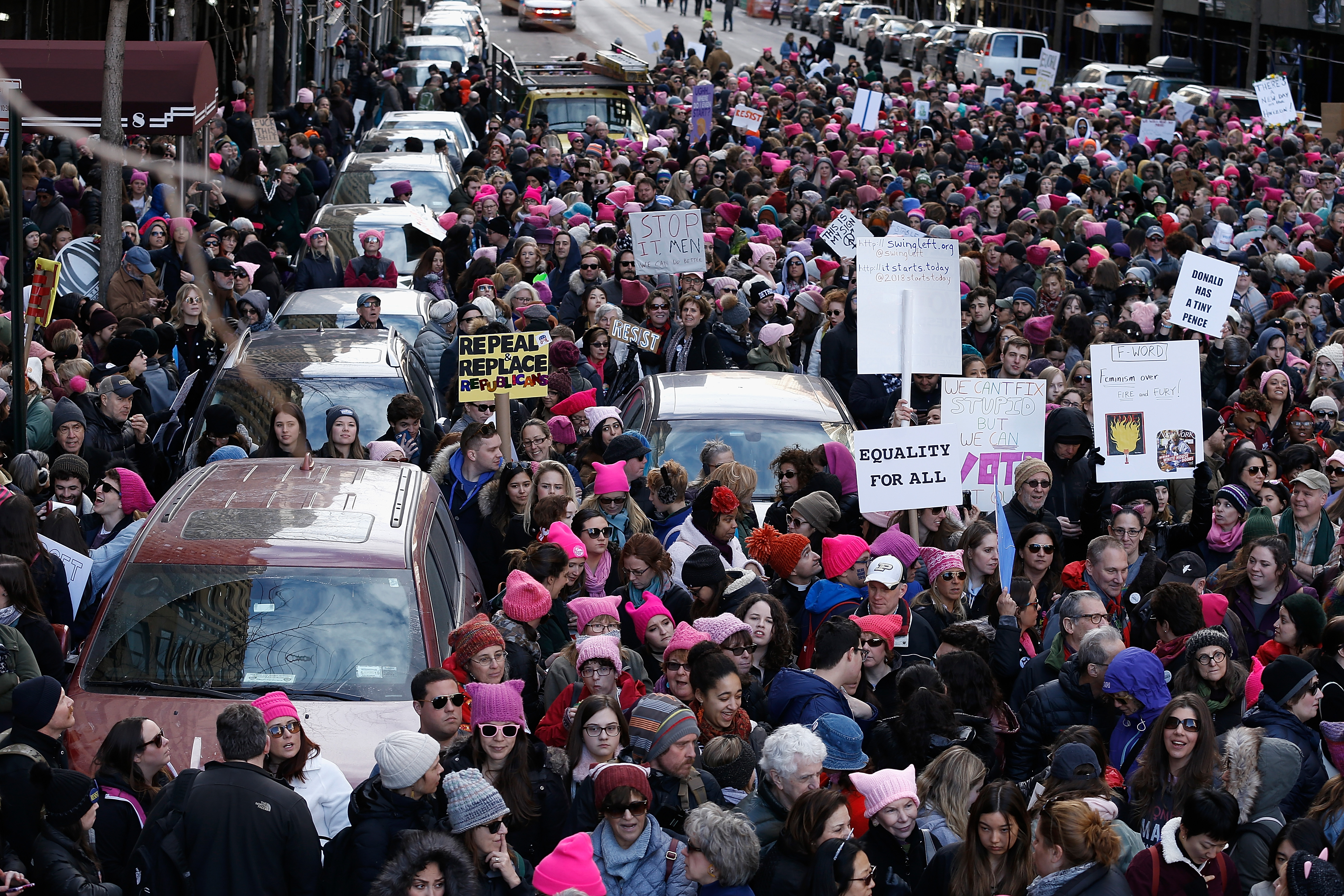 2018 Women's March On New York City