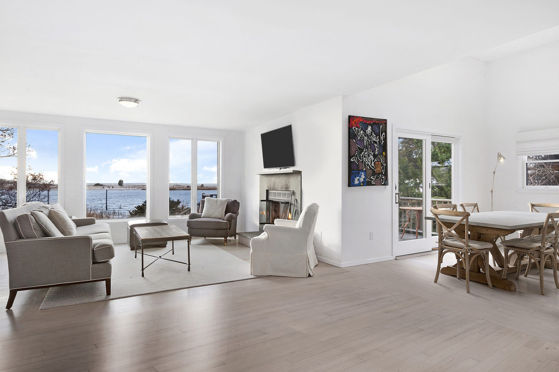 Big reveal: $2.95M for a renovated waterfront house in Sag Harbor