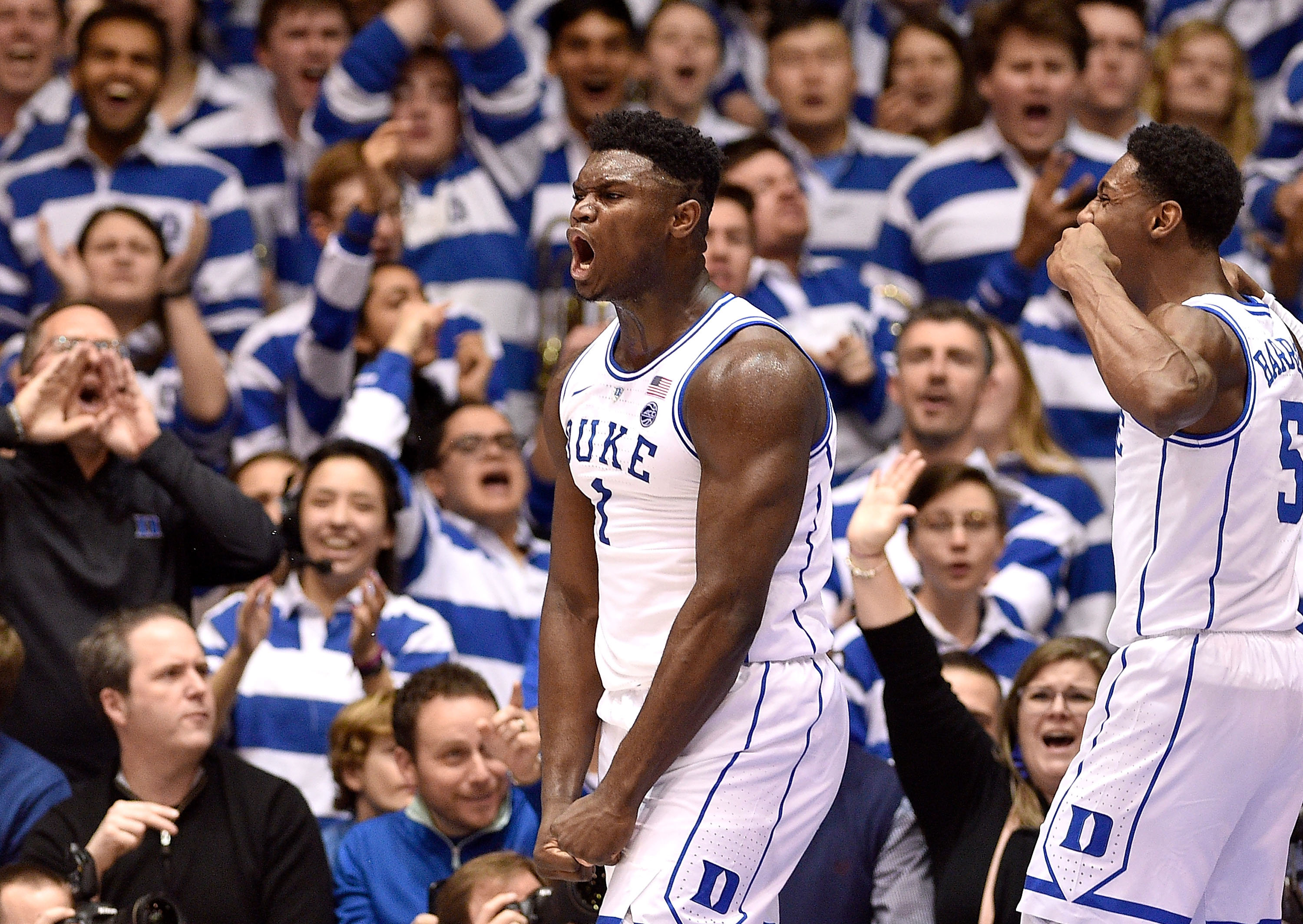 11 thoughts on if Zion Williamson should sit out for Duke to save himself for the NBA draft