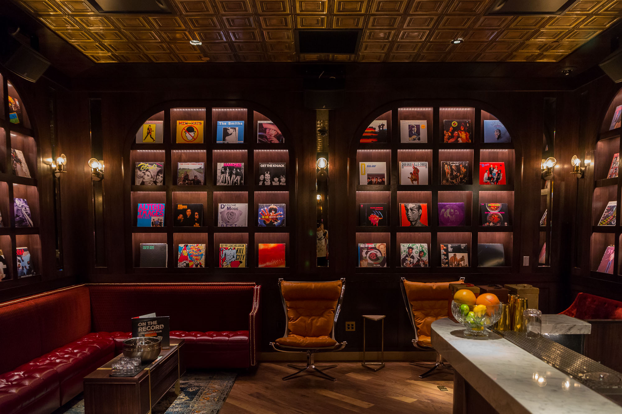 The Vinyl Room at On the Record