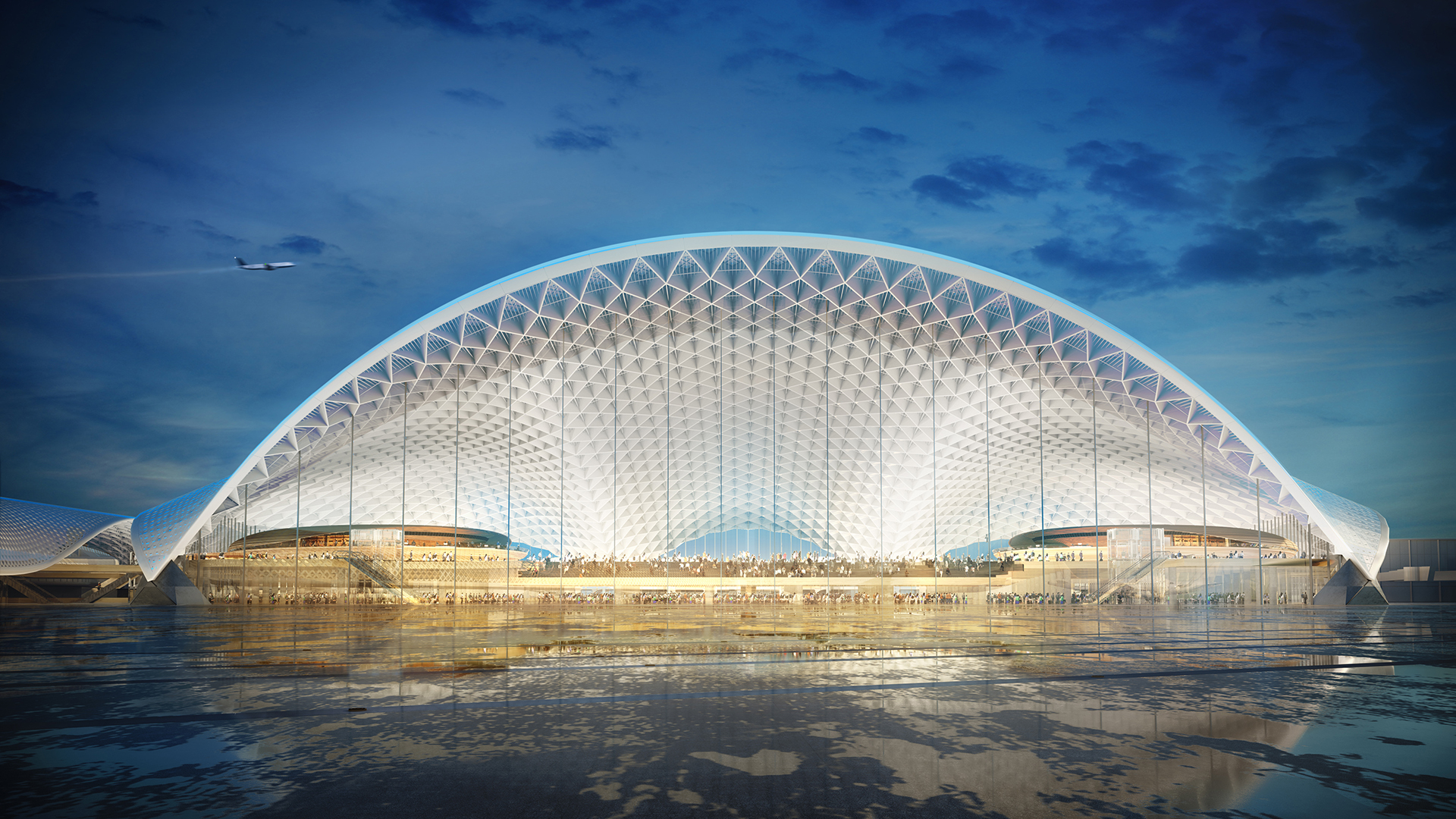 Here are the five finalist designs competing for O'Hare Airport's massive $8.5B expansion