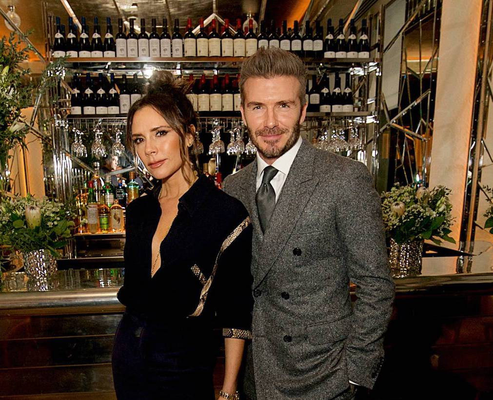 Brasserie of Light at Selfridges on Oxford Street attracted Victoria and David Beckham