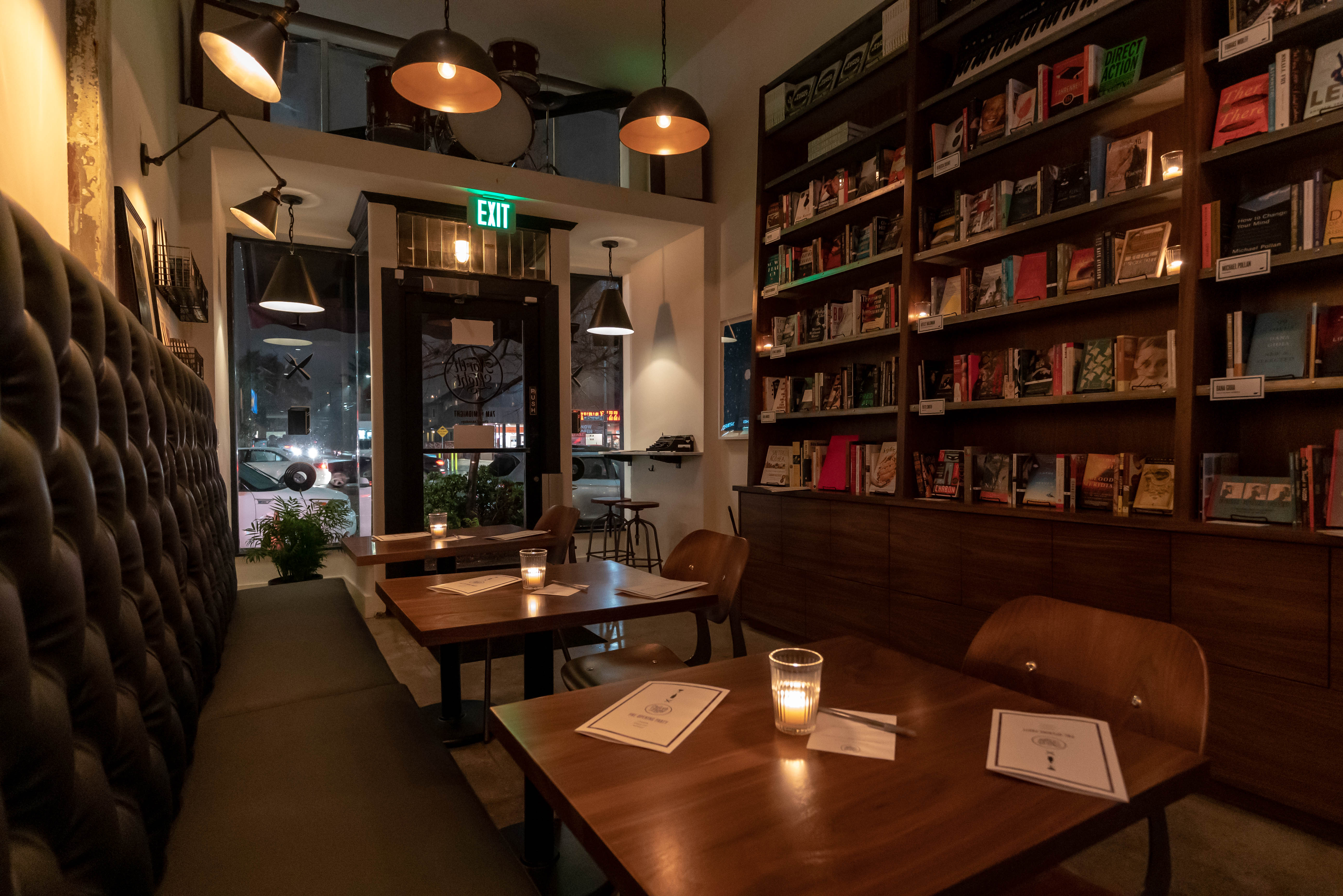 Temescal's New All-Day Hangout Mingles Cocktails, Coffee, and Books