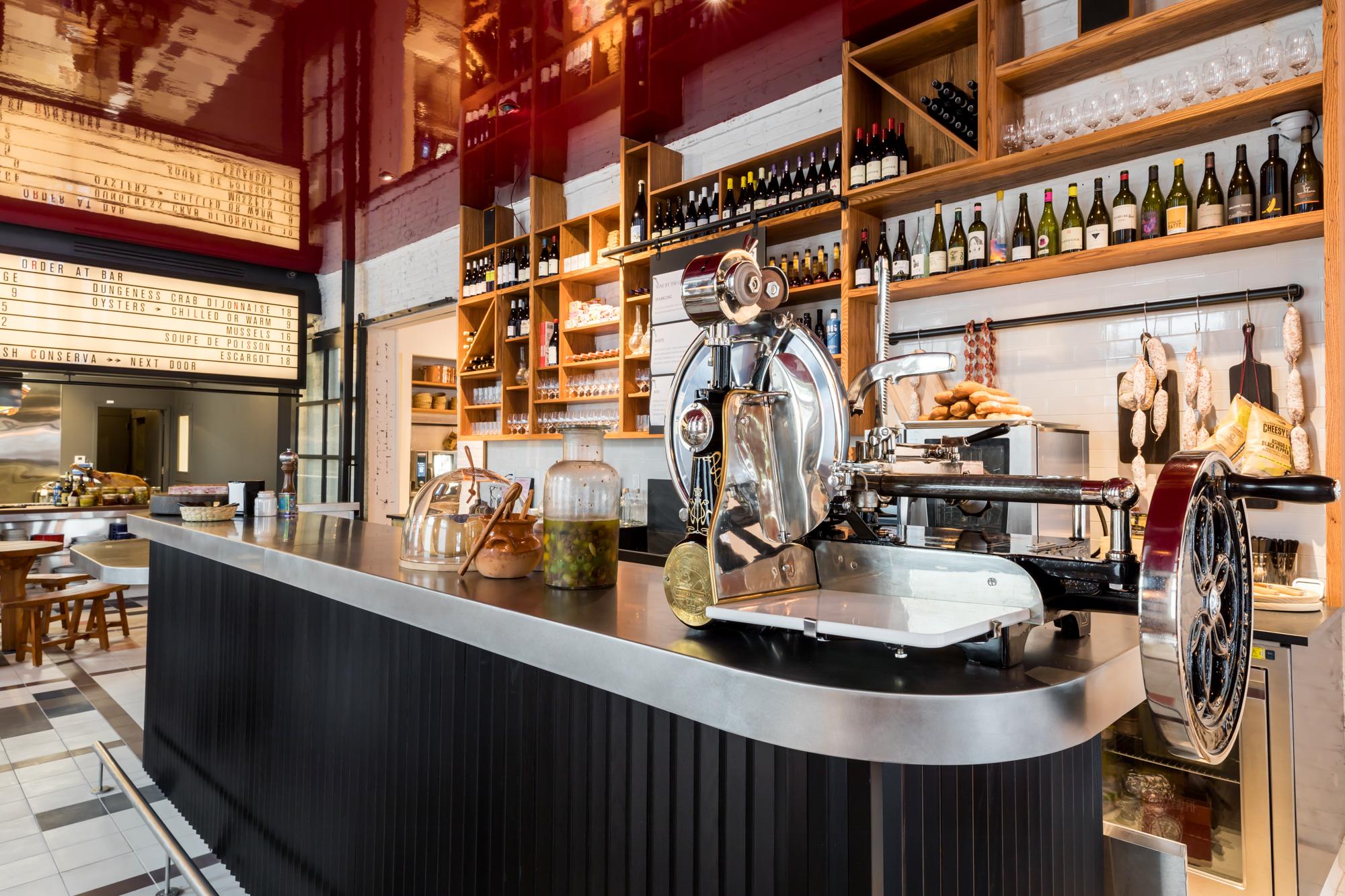 Inside SF's Hottest New Wine Bar, Where High-Gloss and Hi-Fi Rule