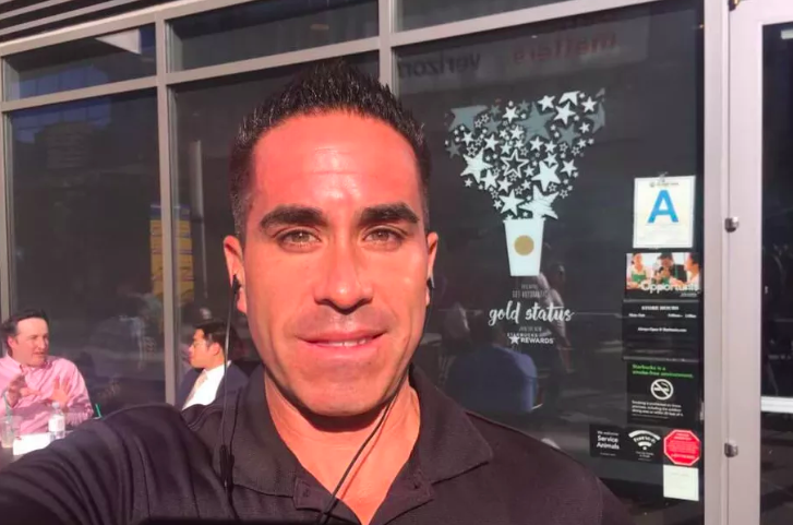 Dine-and-dash dater, Paul Gonzales