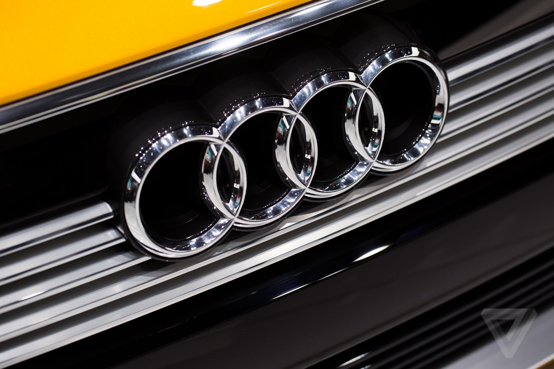 Audi h-tron quattro concept at the Detroit Auto Show