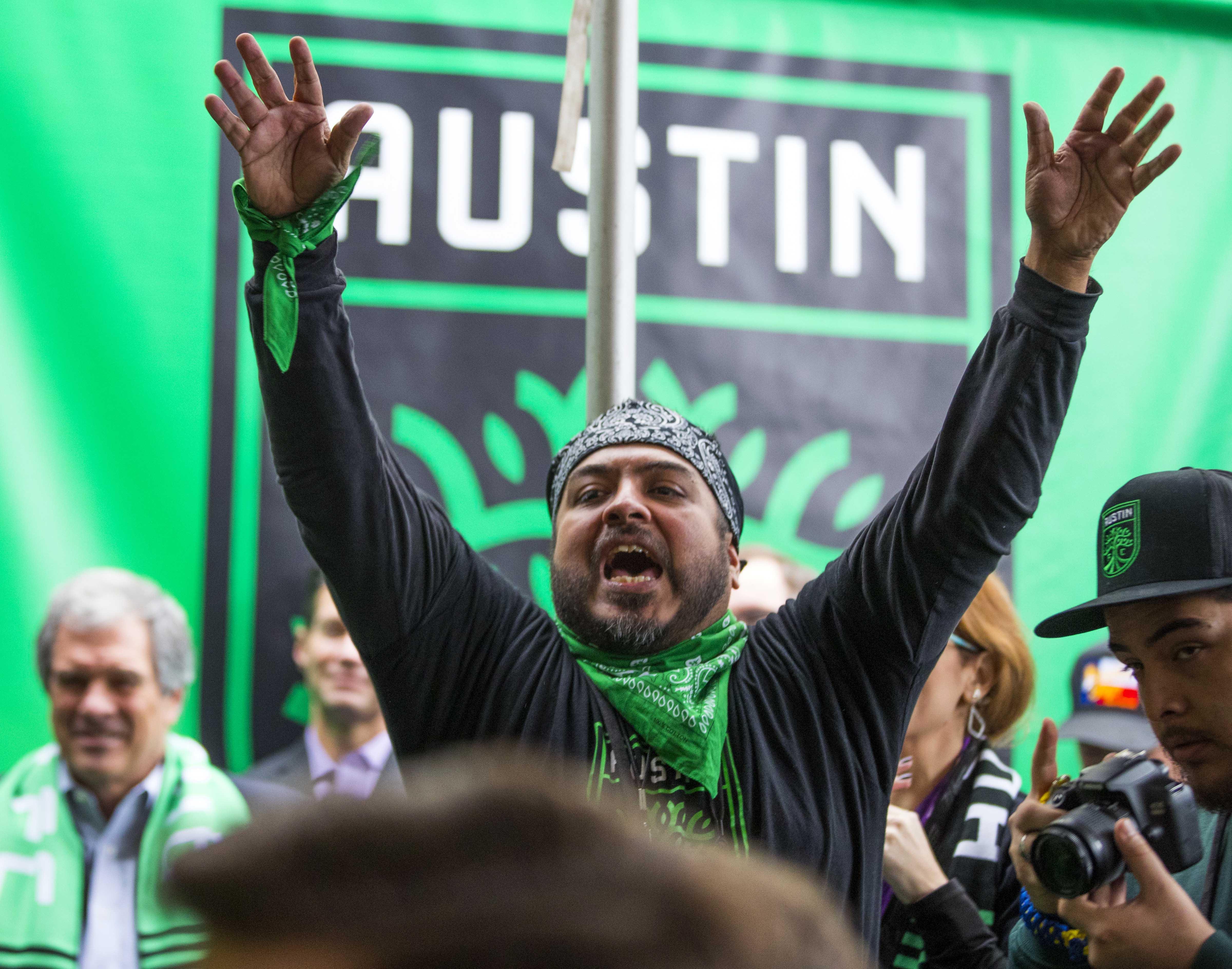 MLS: Austin FC-Press Conference