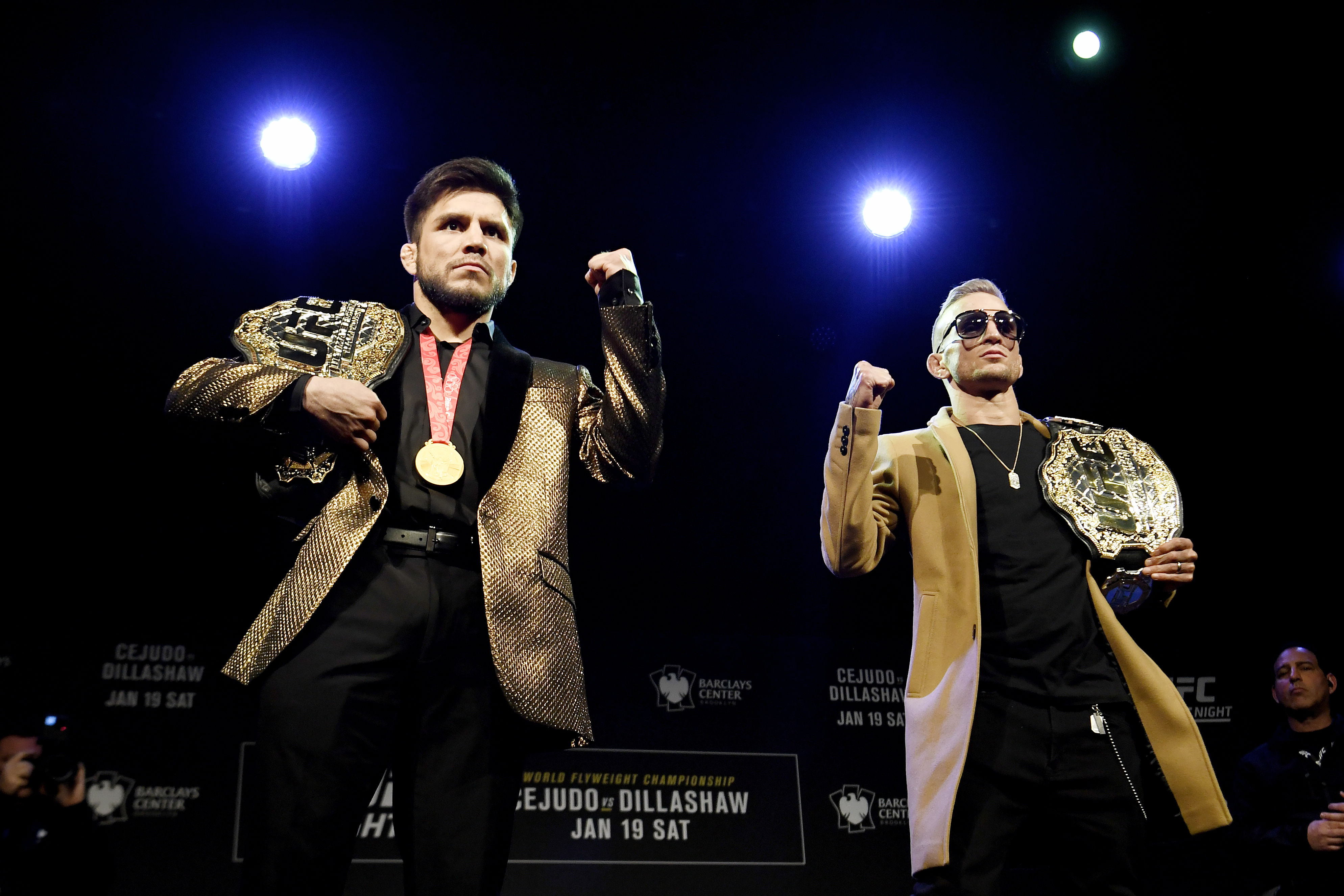 UFC Fight Night Cejudo v Dillashaw: Press Conference