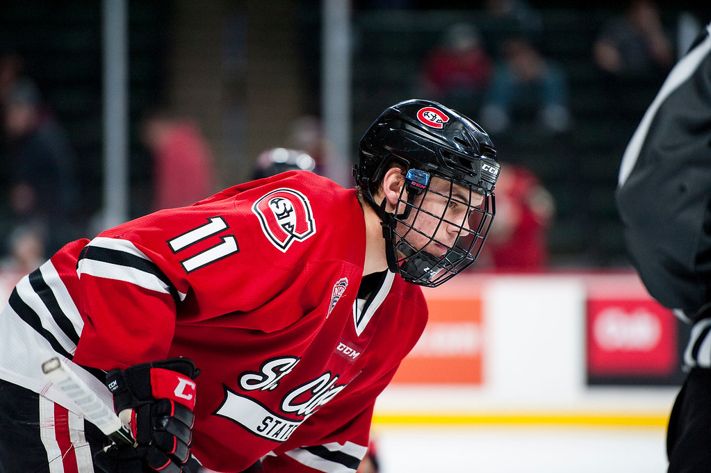 NCHC: St. Cloud State Halts Western Michigan's Unbeaten Streak With 3-0 Win