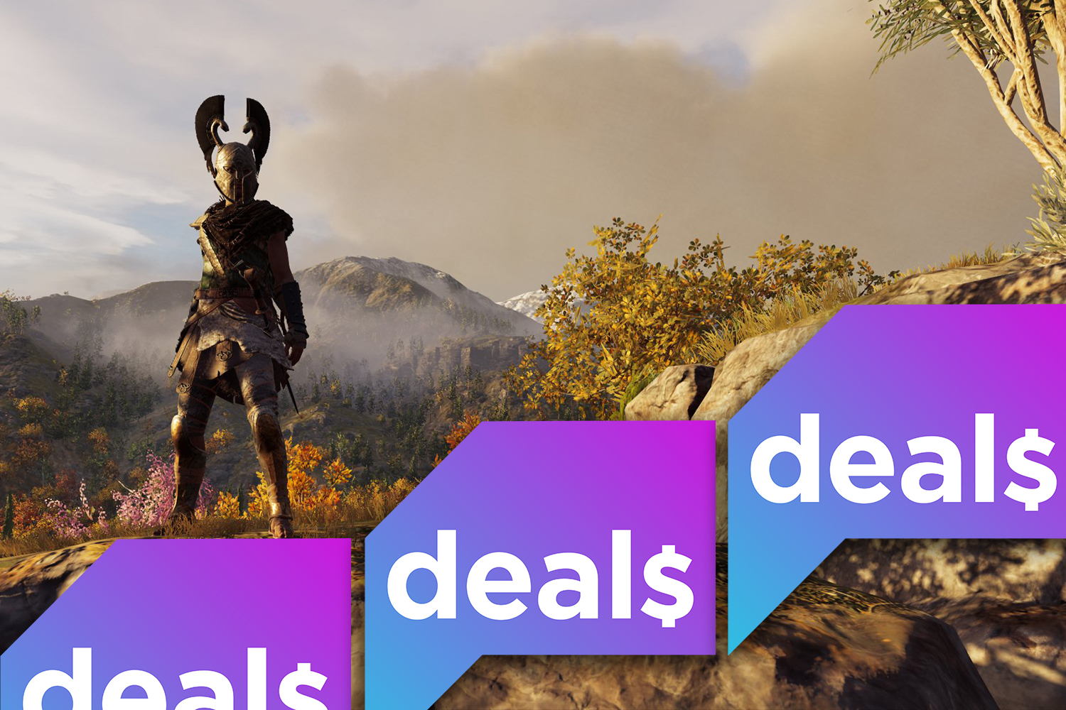 A PlayStation 4 Pro discount, Assassin's Creed Odyssey for $25, and more gaming deals