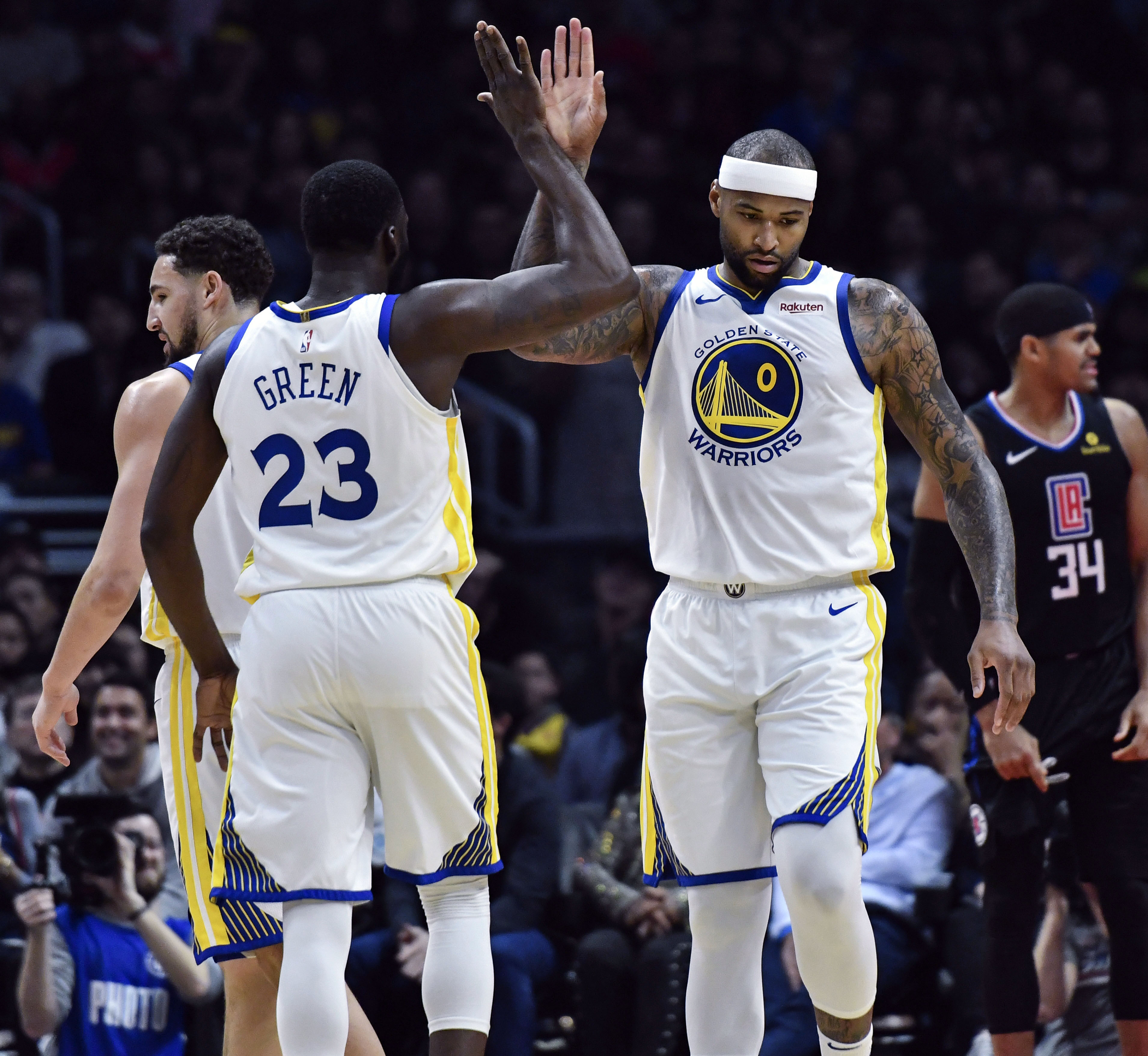 DeMarcus Cousins' Warriors debut reminded the other 29 NBA teams why they're doomed