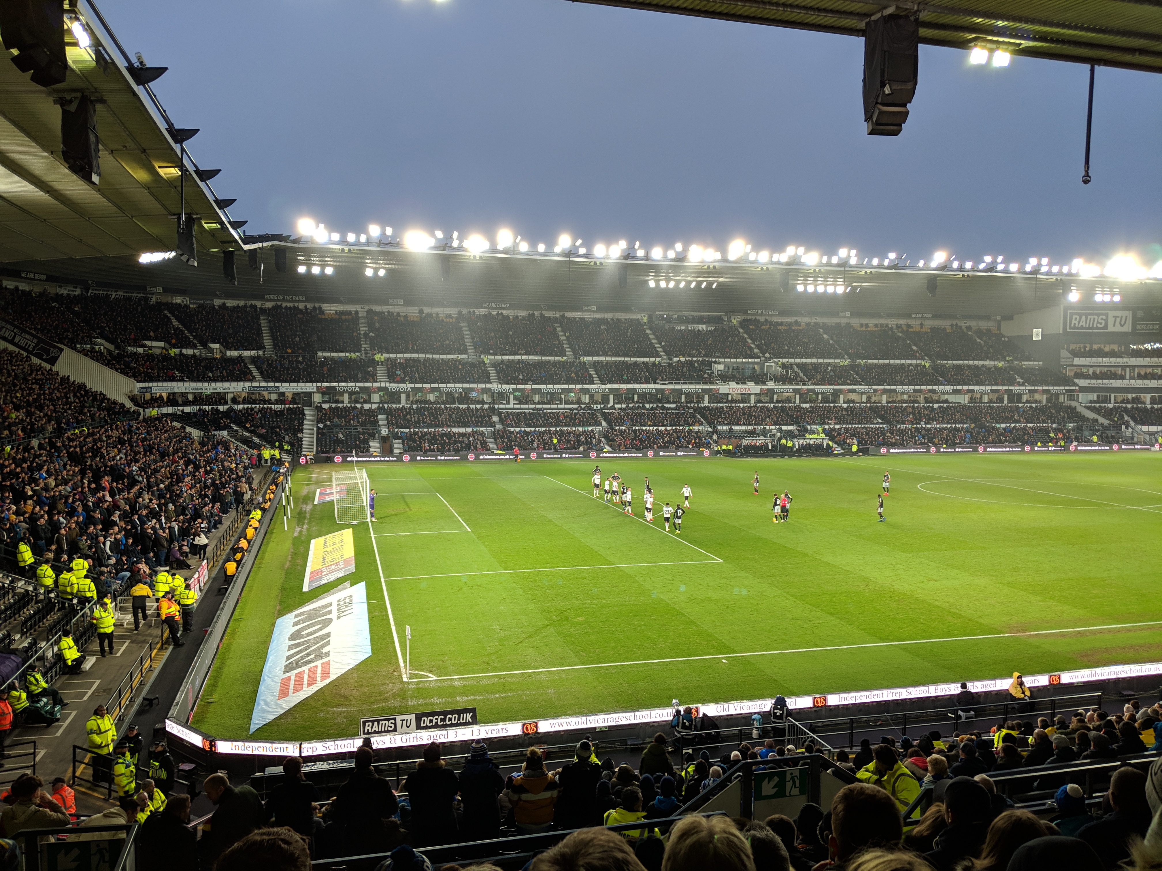Derby County 2-1 Reading FC: Royals Edged Out At Pride Park