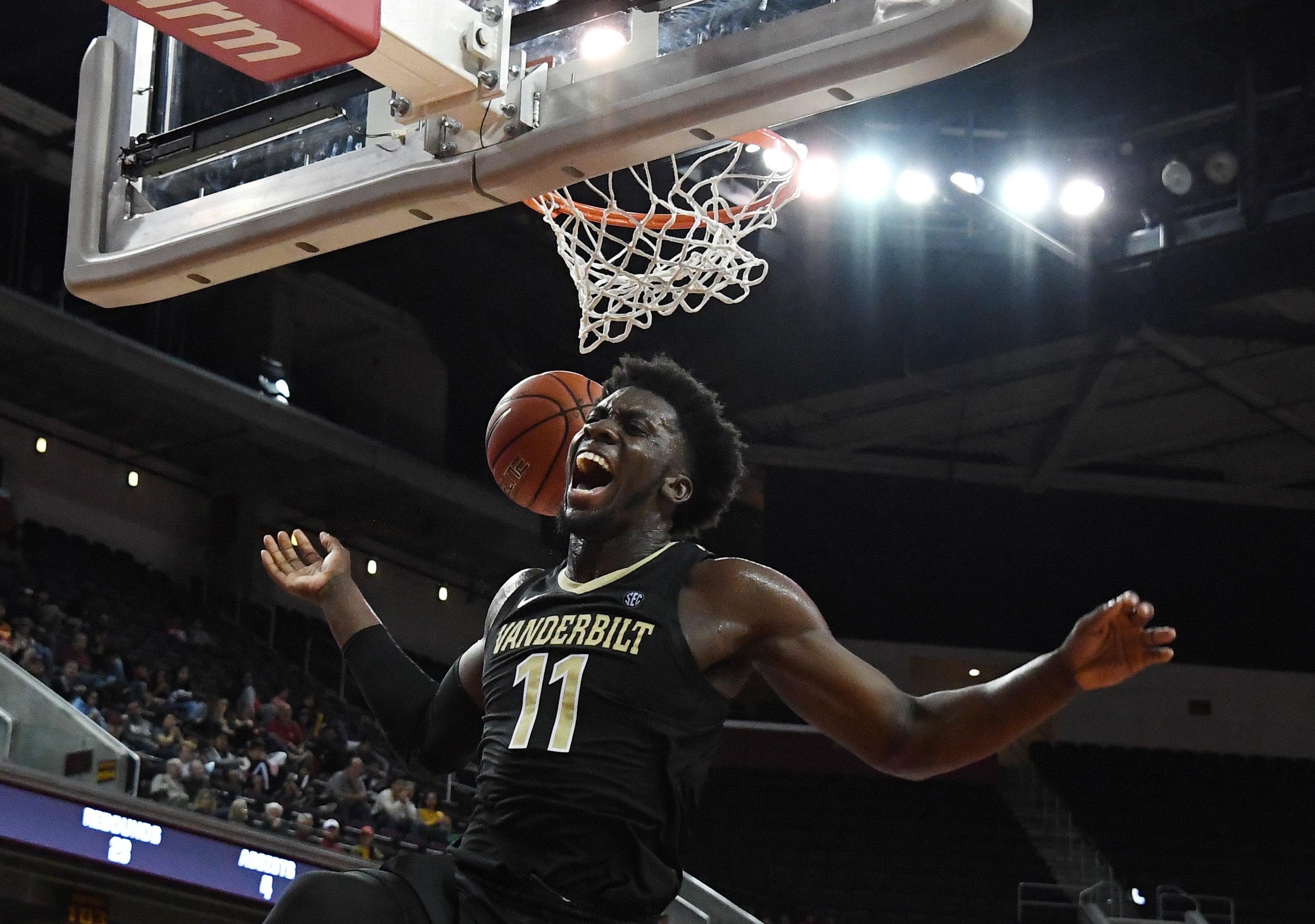 NCAA Basketball: Vanderbilt at Southern California