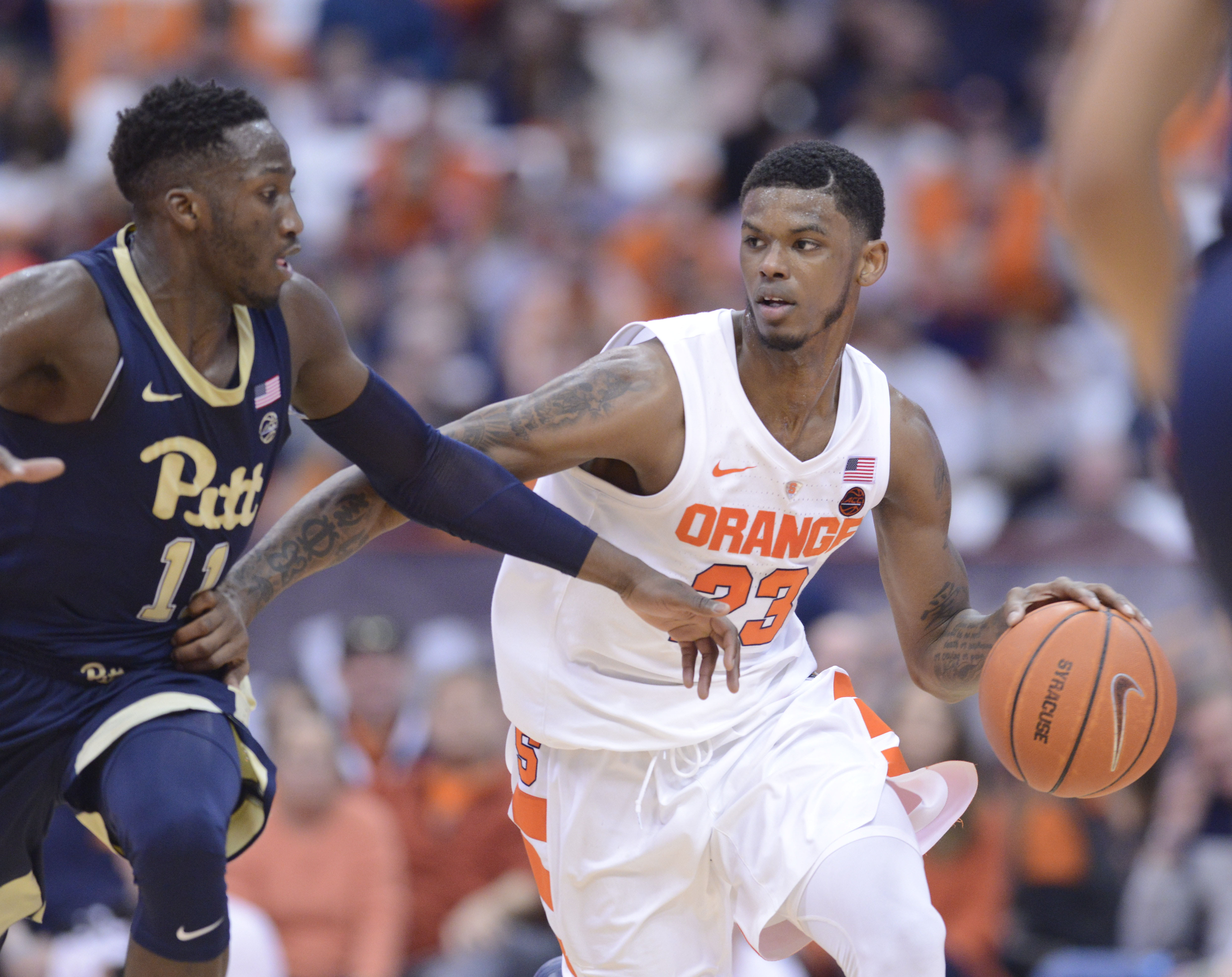 Six Takeaways From Syracuse S 74 63 Win Over The Pittsburgh Panthers