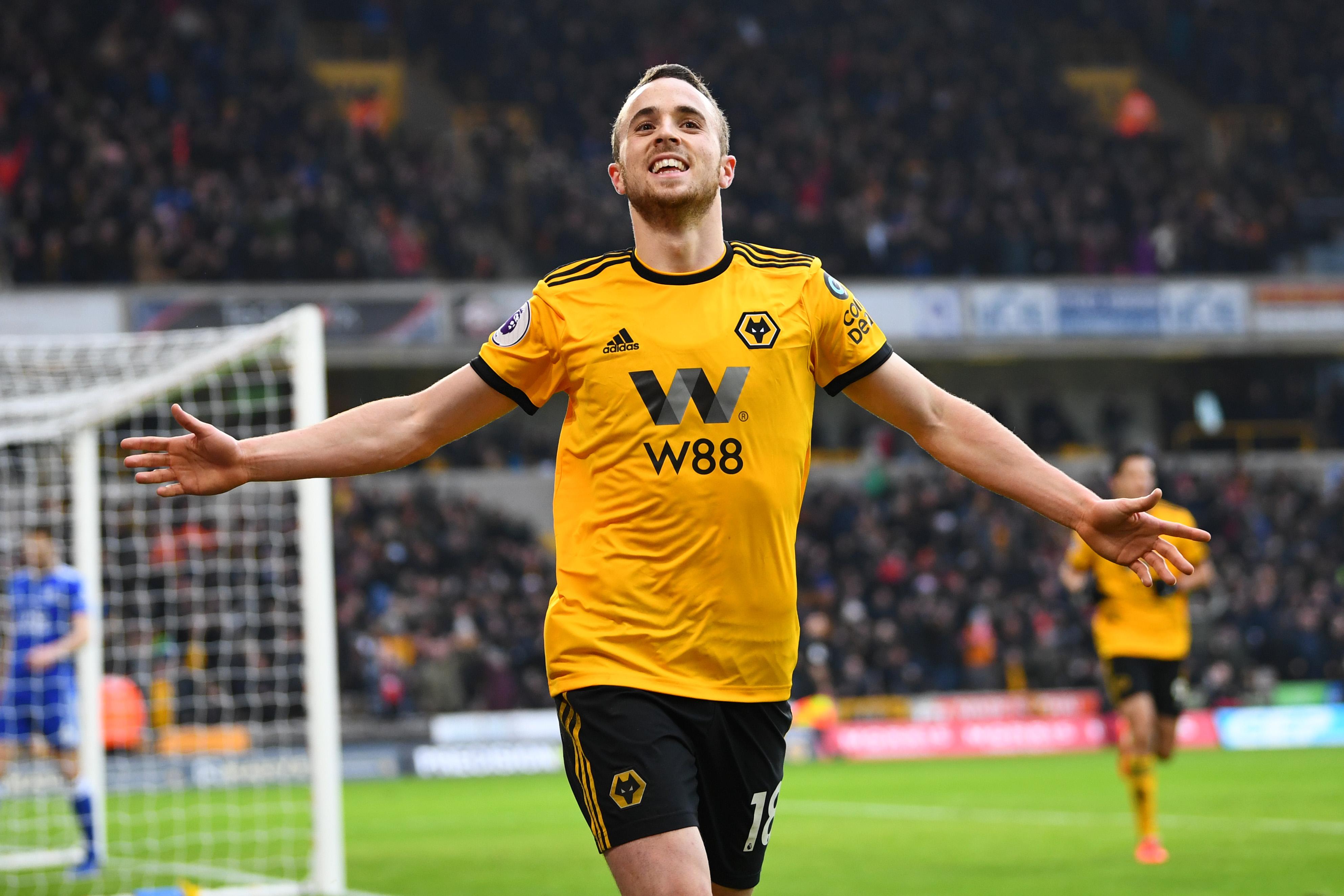 Diogo Jota - Wolverhampton Wanderers - Premier League