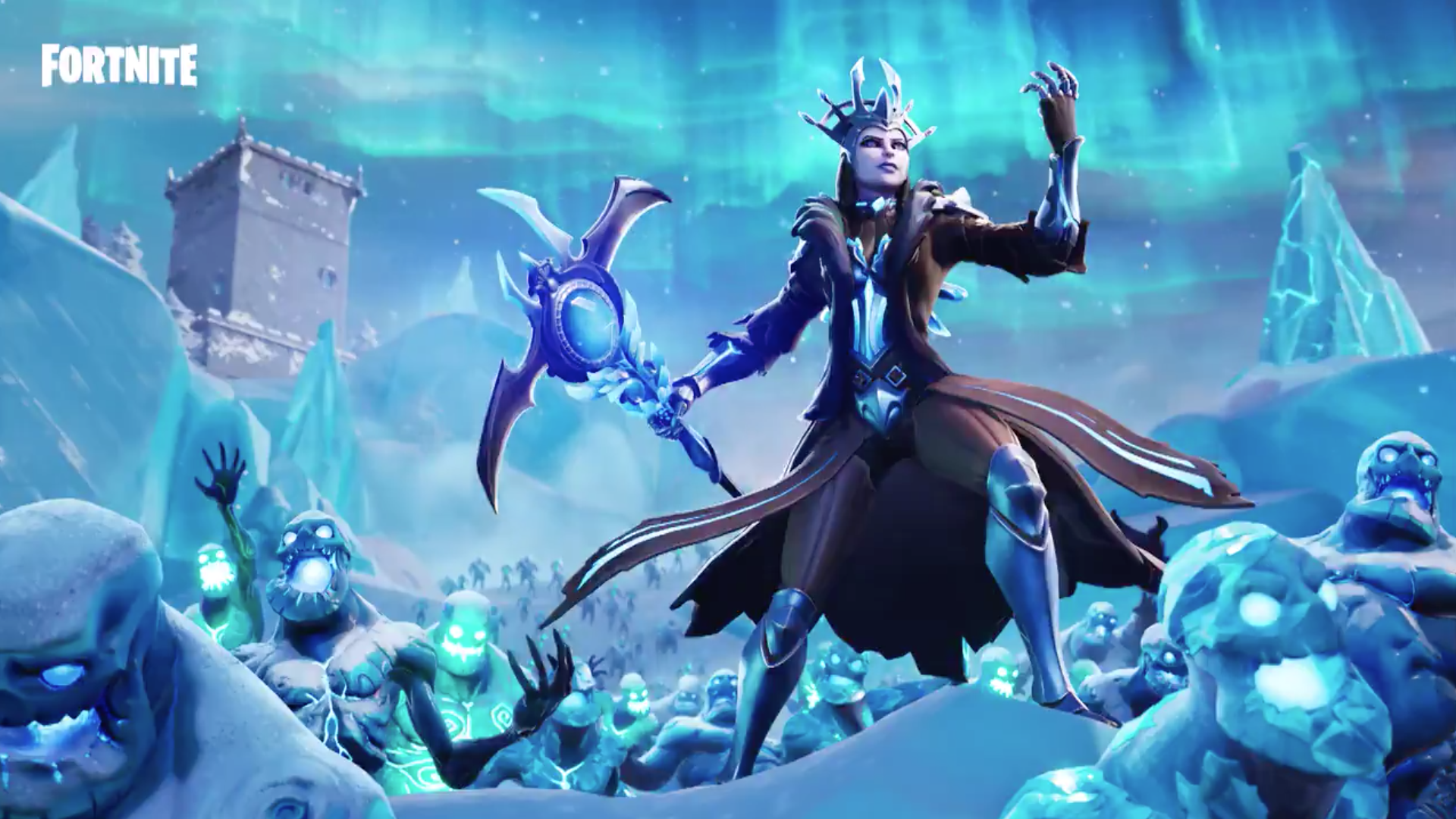 Fortnite's Ice Storm cometh, Ice King dumps blizzard on the whole