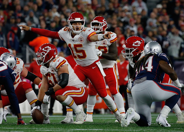 Kansas City Chiefs v New England Patriots