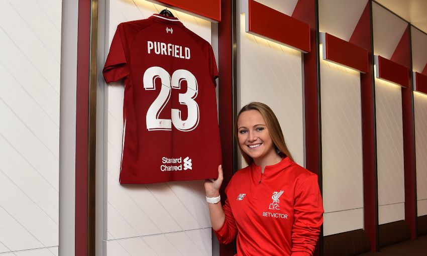 Liverpool FC Women Sign Jemma Purfield