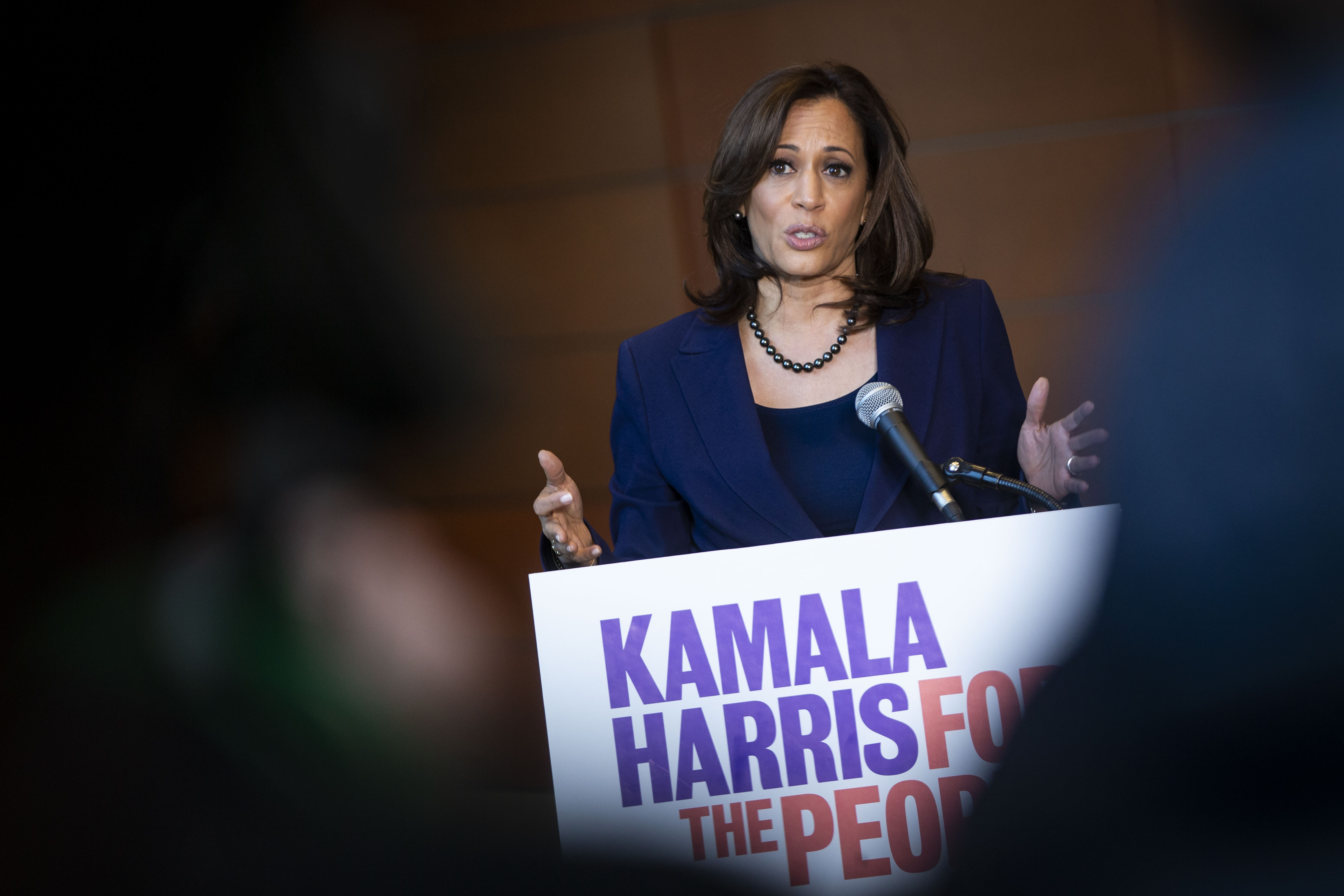 Kamala Harris has been criticized for her criminal justice