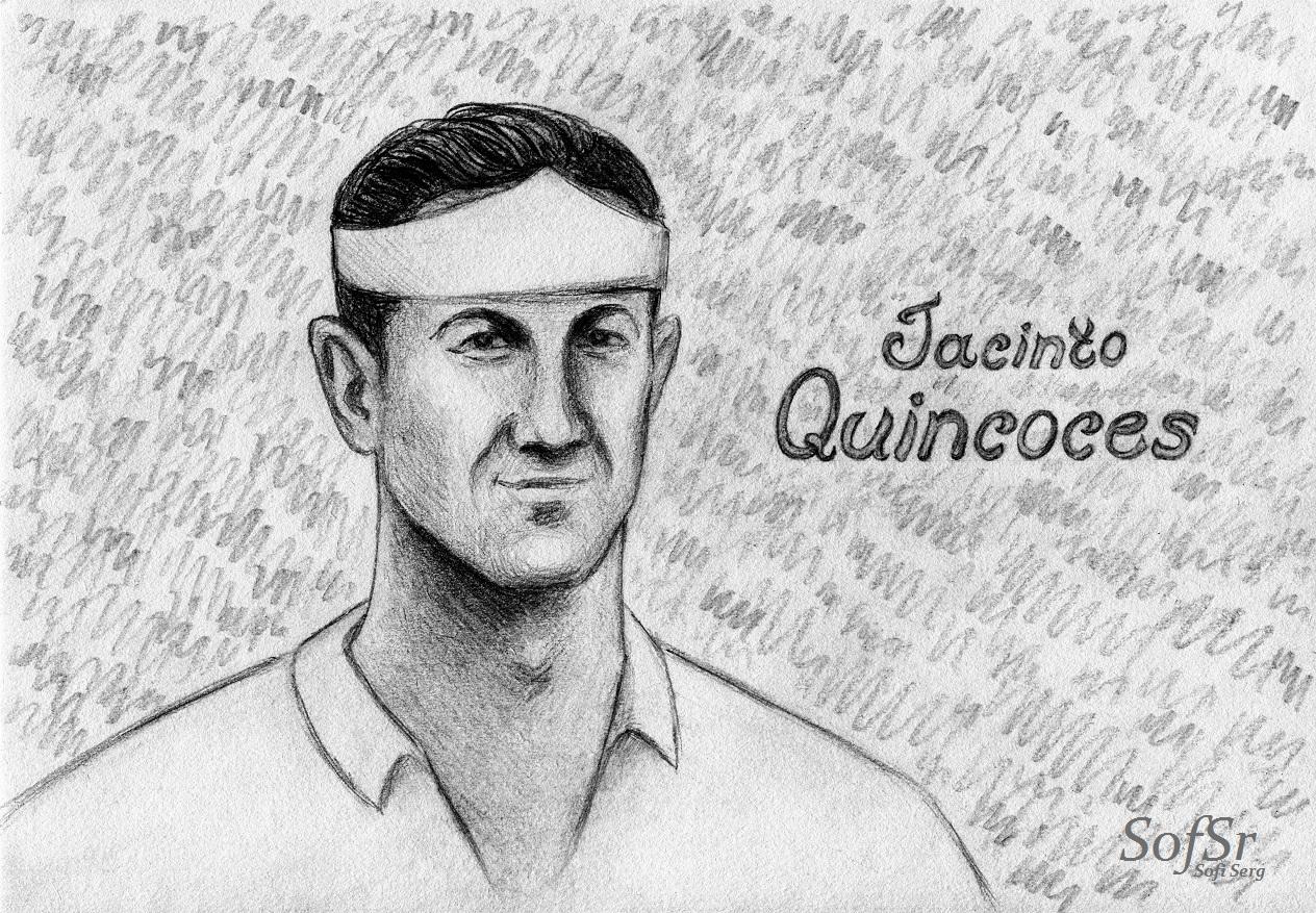 Jacinto Quincoces. Illustration by Sofi Serg.