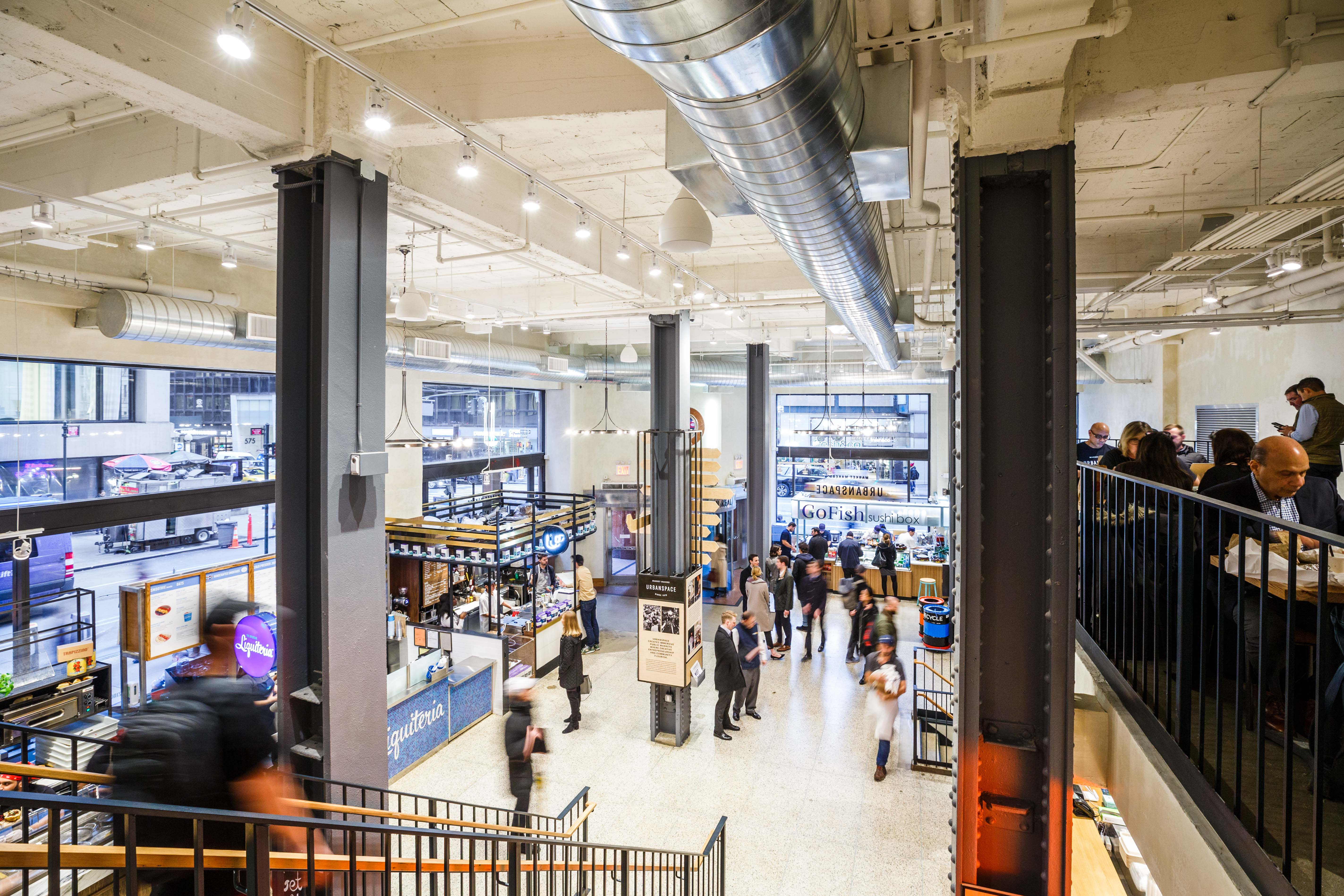 2 New Food Halls Are Opening in Manhattan