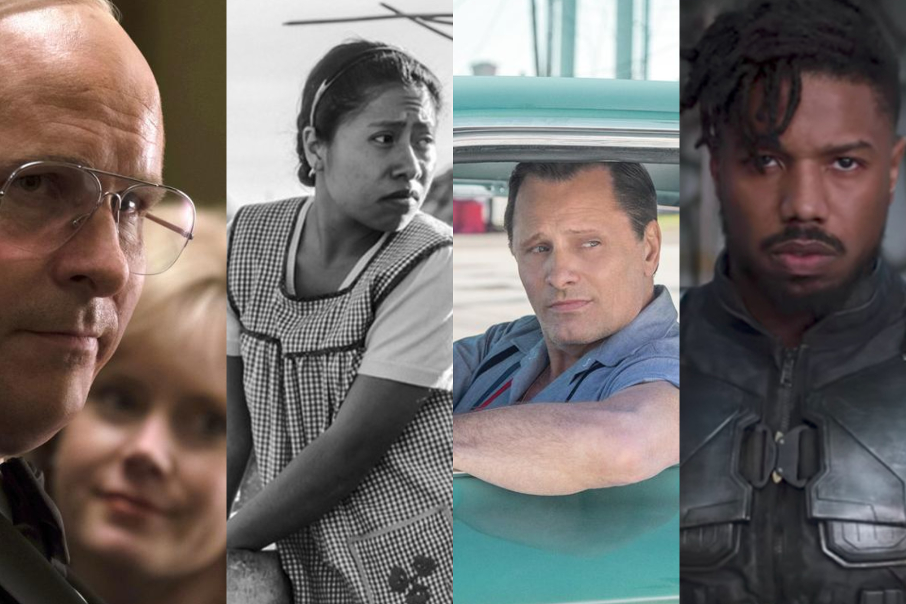 Vice, Roma, Green Book, and Black Panther were all nominated for Oscars — some more than others.