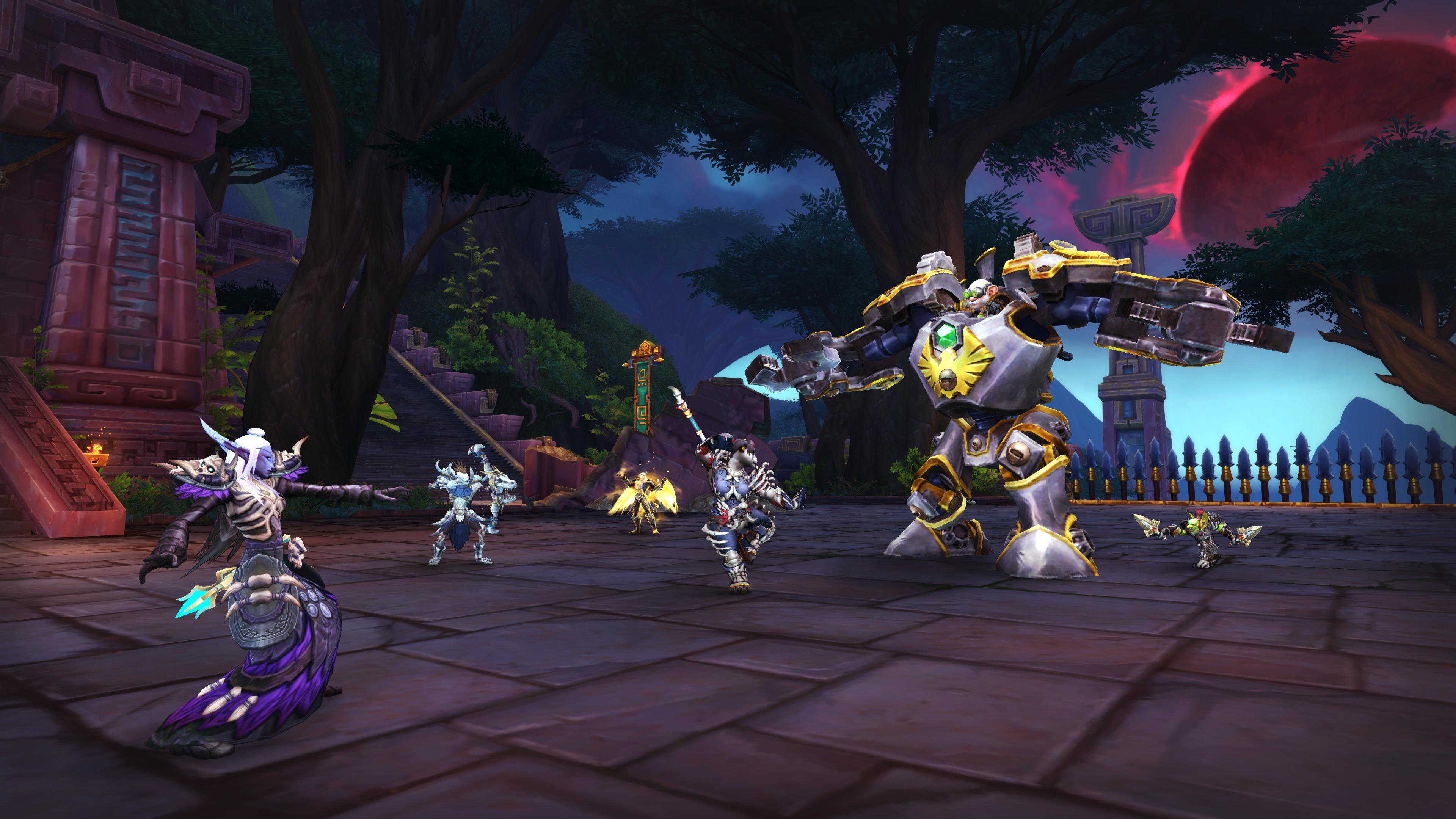 World of Warcraft update brings new raid, new dungeon mechanic