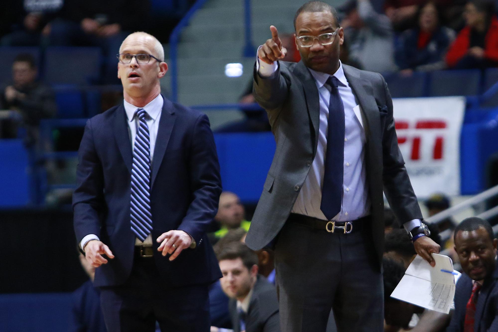 UConn Men's Basketball head coach Dan Hurley