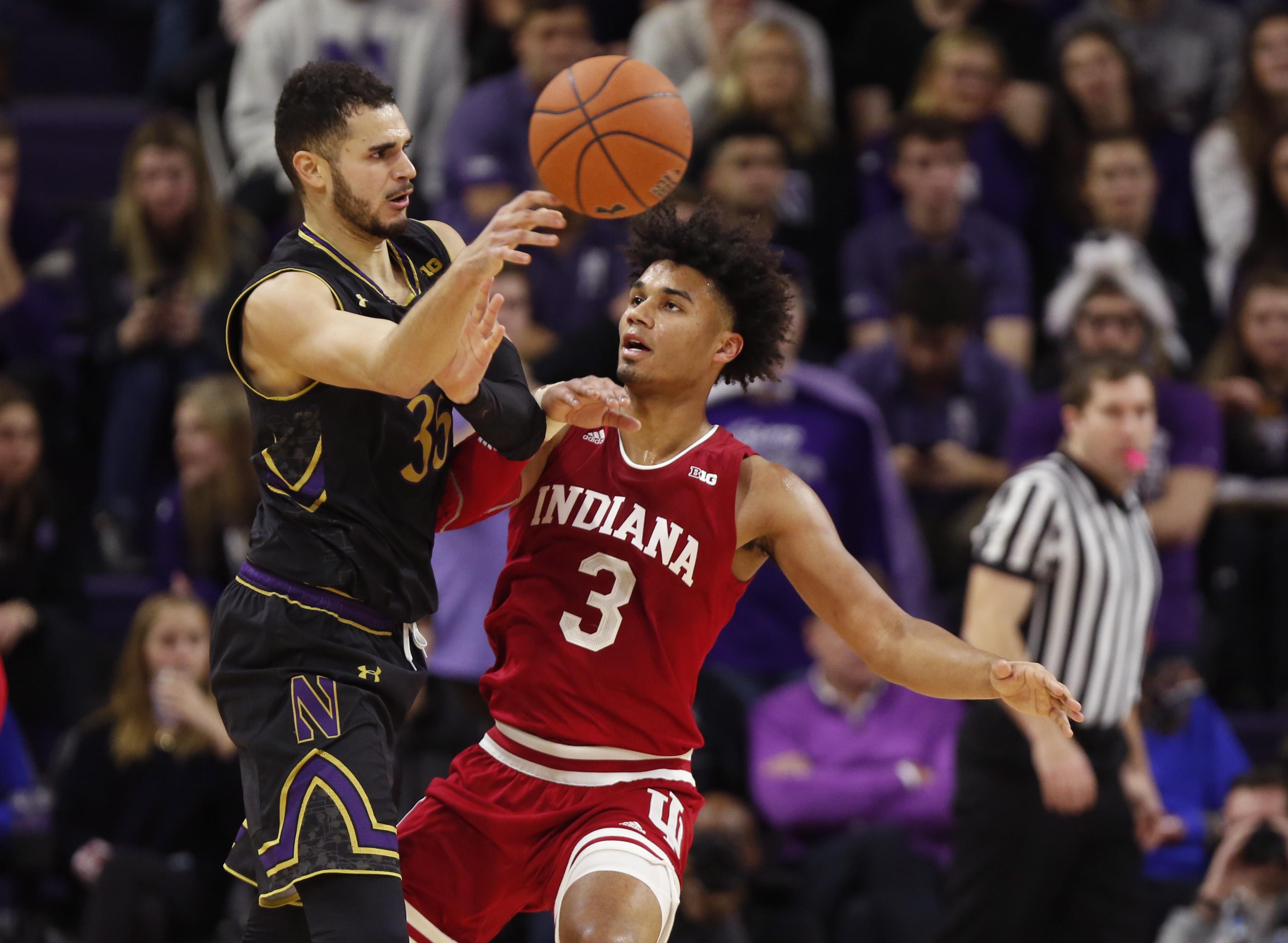 NCAA Basketball: Indiana at Northwestern
