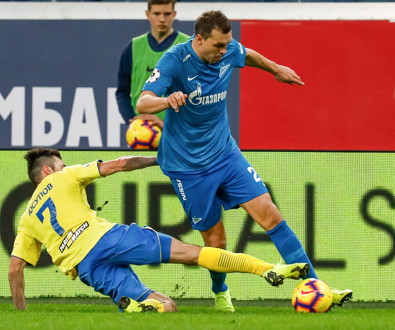 FC Zenit Saint Petersburg vs FC Rostov Rostov-on-Don - Russian Premier League