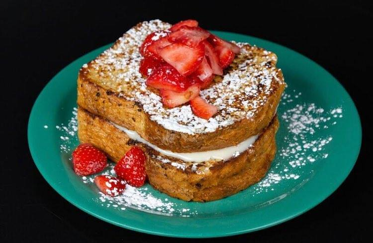 Stuffed French toast at the Friendly Toast