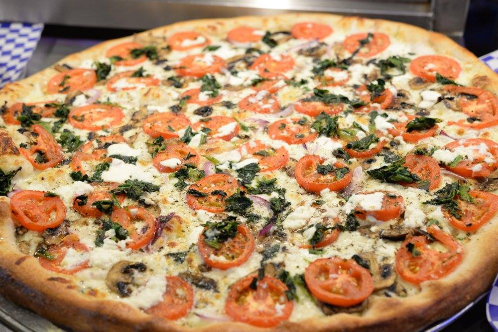 A pie from Roppolo's Pizzeria