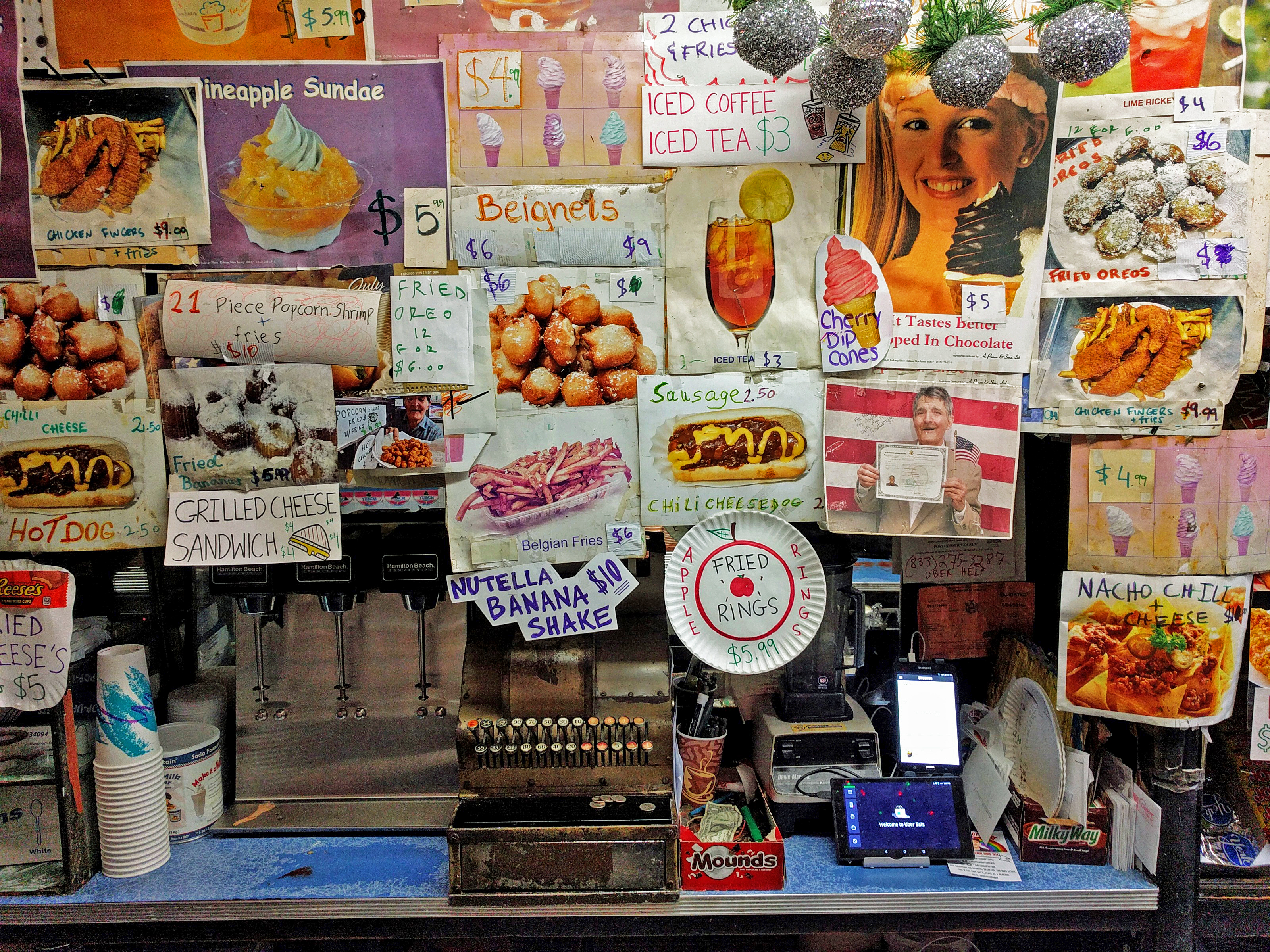 At Ray's Candy Store, the wall is the menu.
