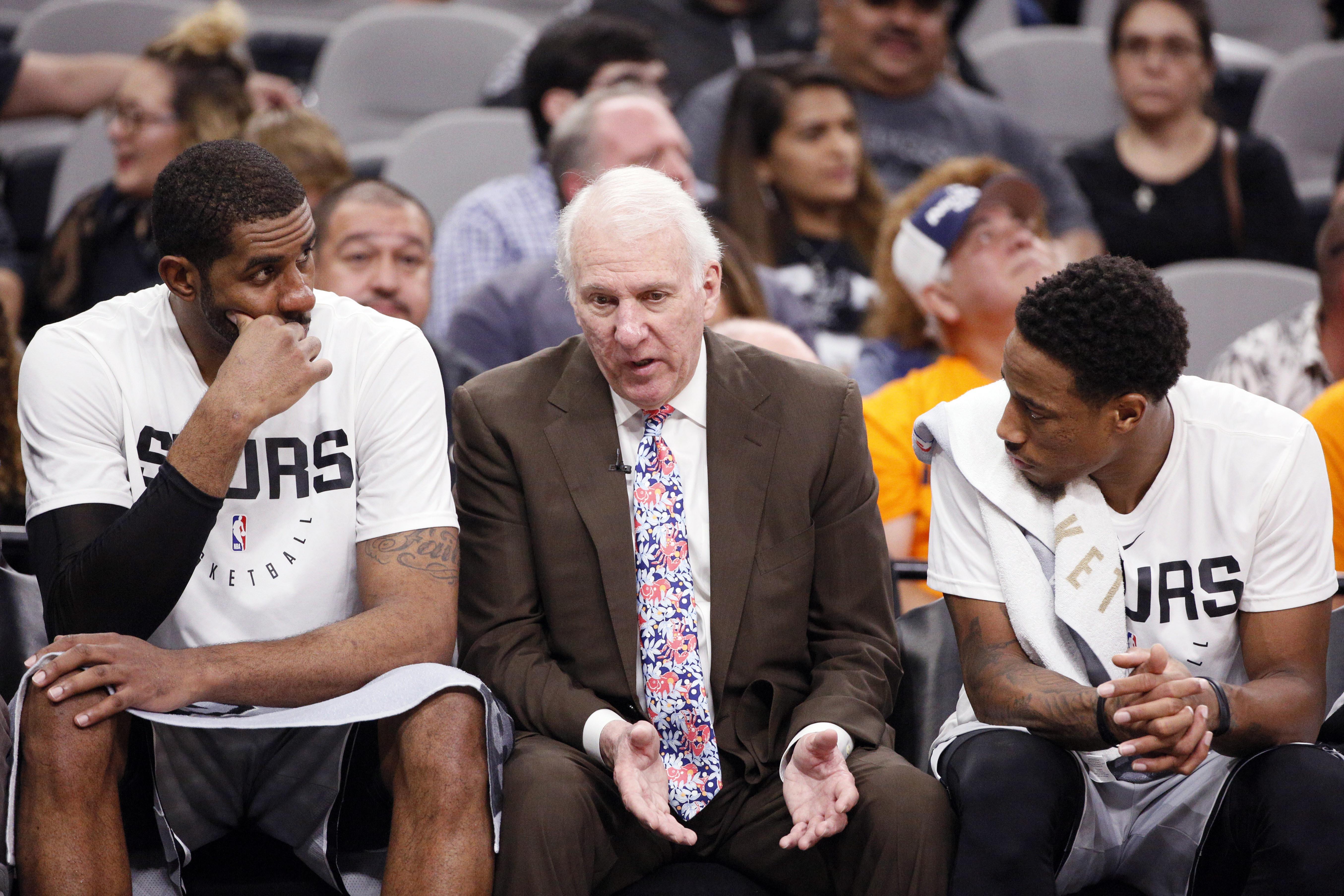 NBA: Houston Rockets at San Antonio Spurs