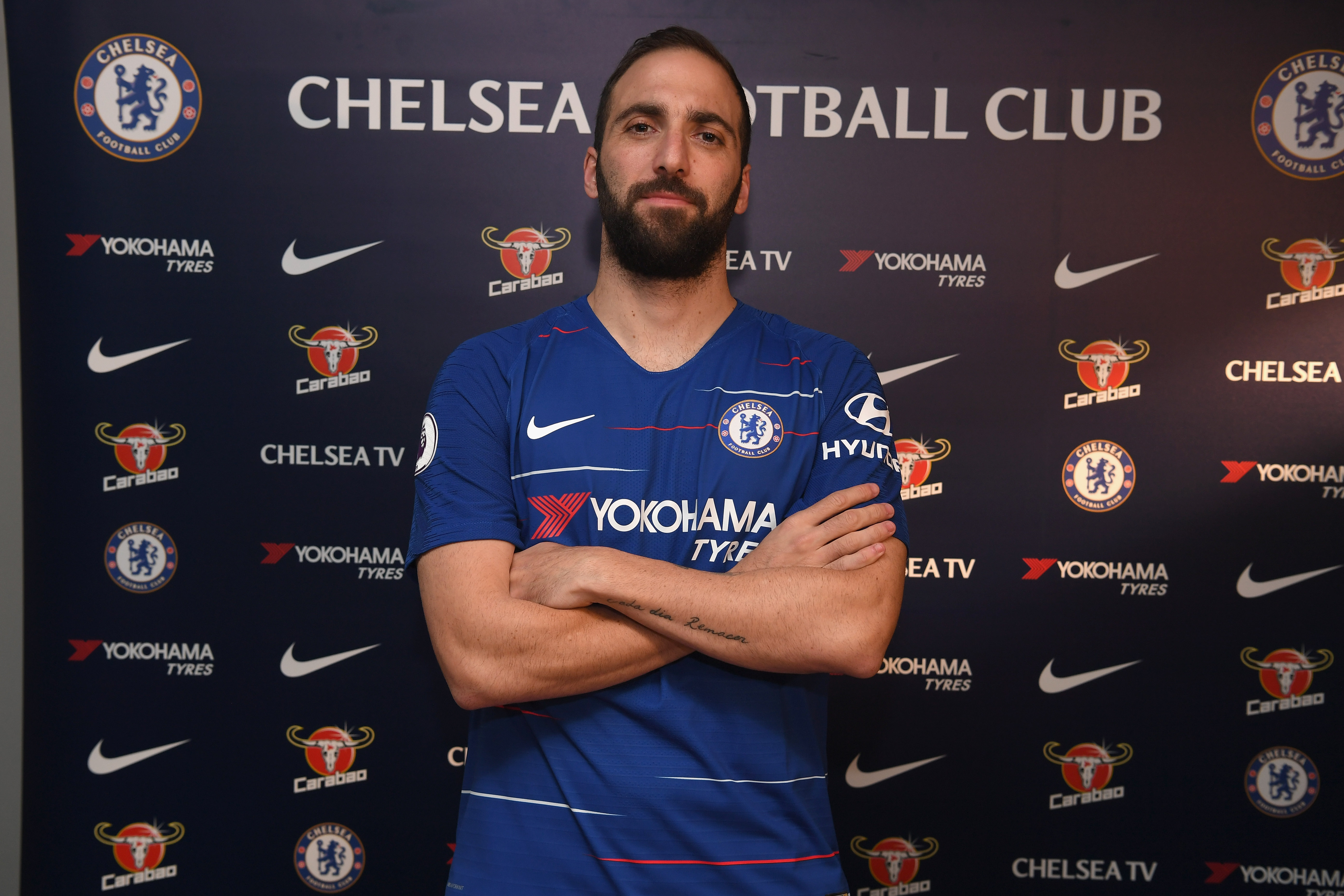 Higuain performance clauses for €18m loan include third place and Europa League title — report