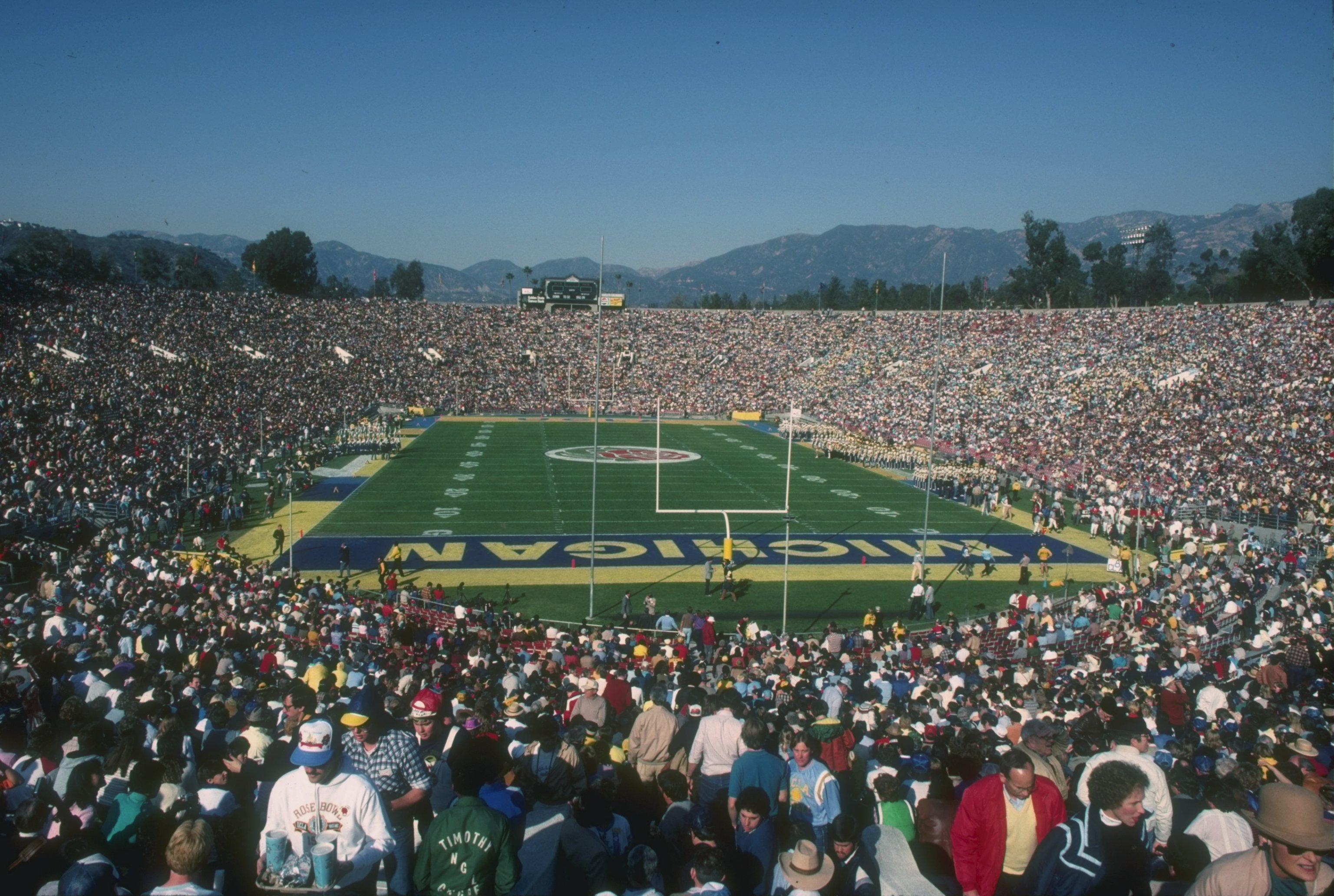 1983 Rose Bowl Game: Michigan Wolverines v UCLA Bruins