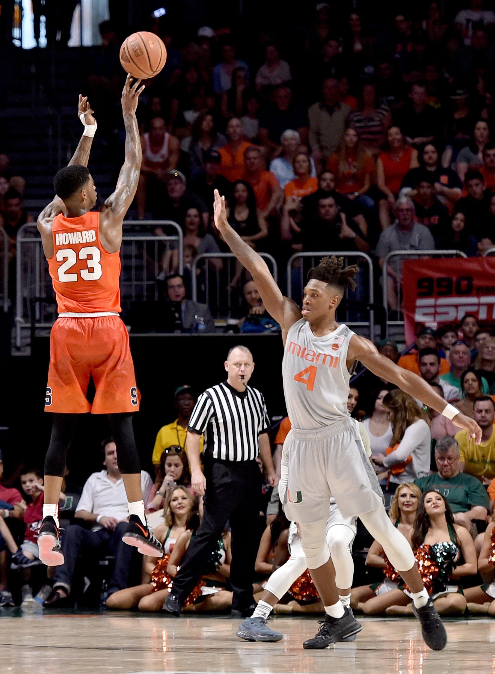 NCAA Basketball: Syracuse at Miami