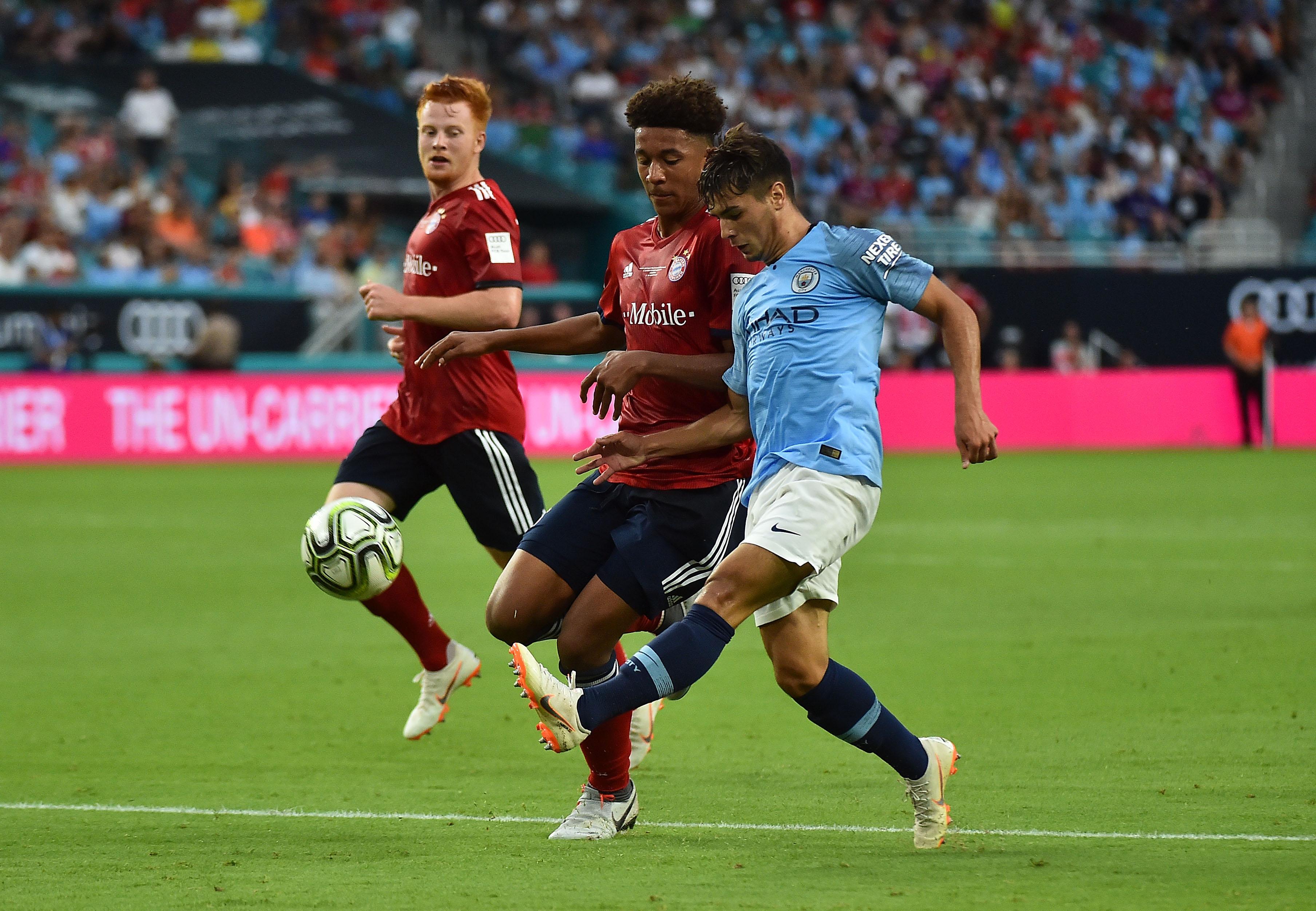 Soccer: International Champions Cup-FC Bayern at Manchester City