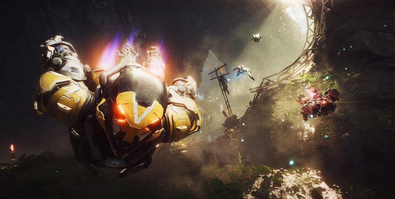 Anthem feels as good as Destiny, but has BioWare's creative touch