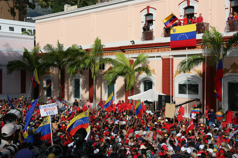 Venezuelan Opposition Leader Declares Self Interim President