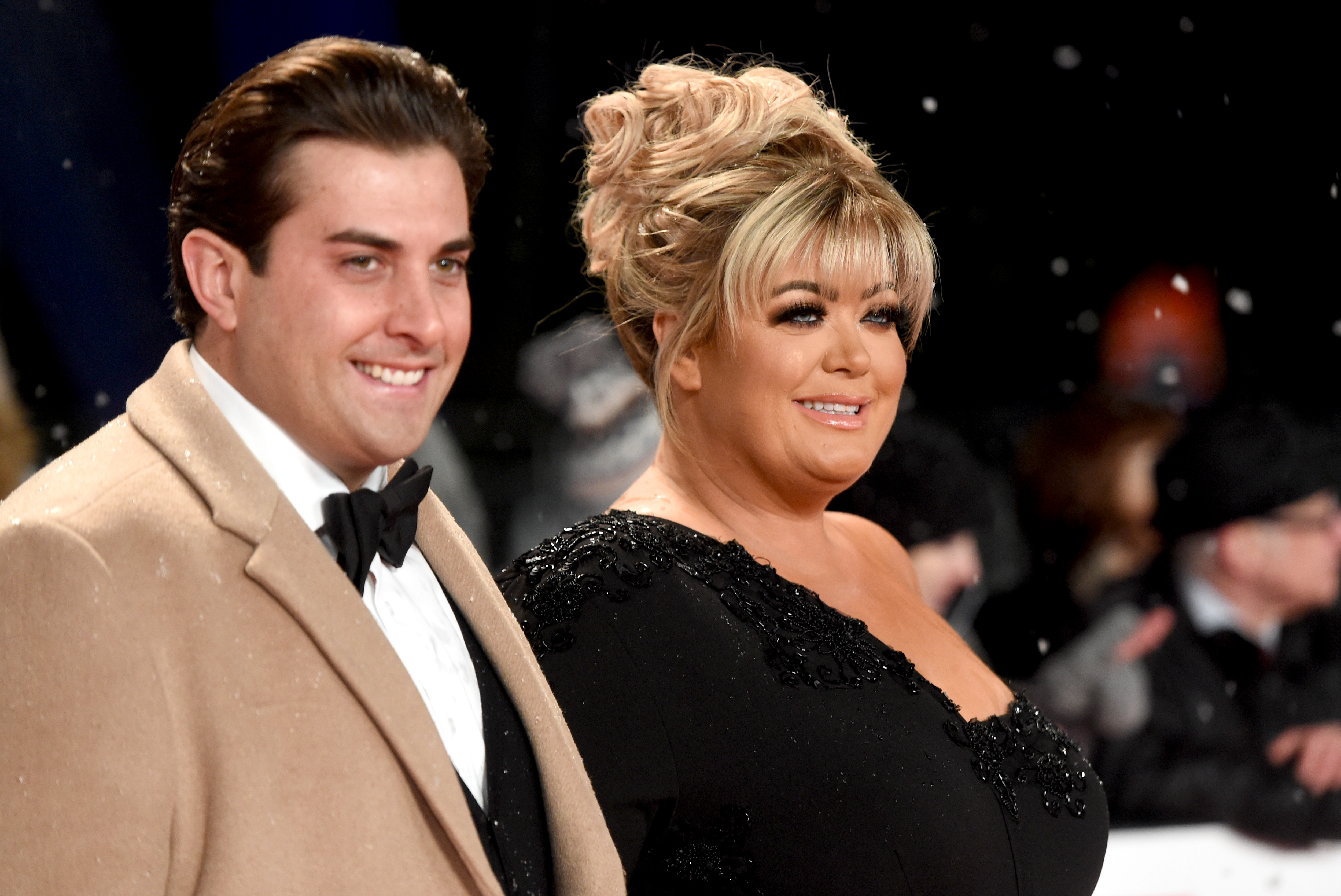 The Only Way Is Essex's Gemma Collins and Arg, James Argent, credit London restaurant Tayyabs in Whitechapel with starting their romance