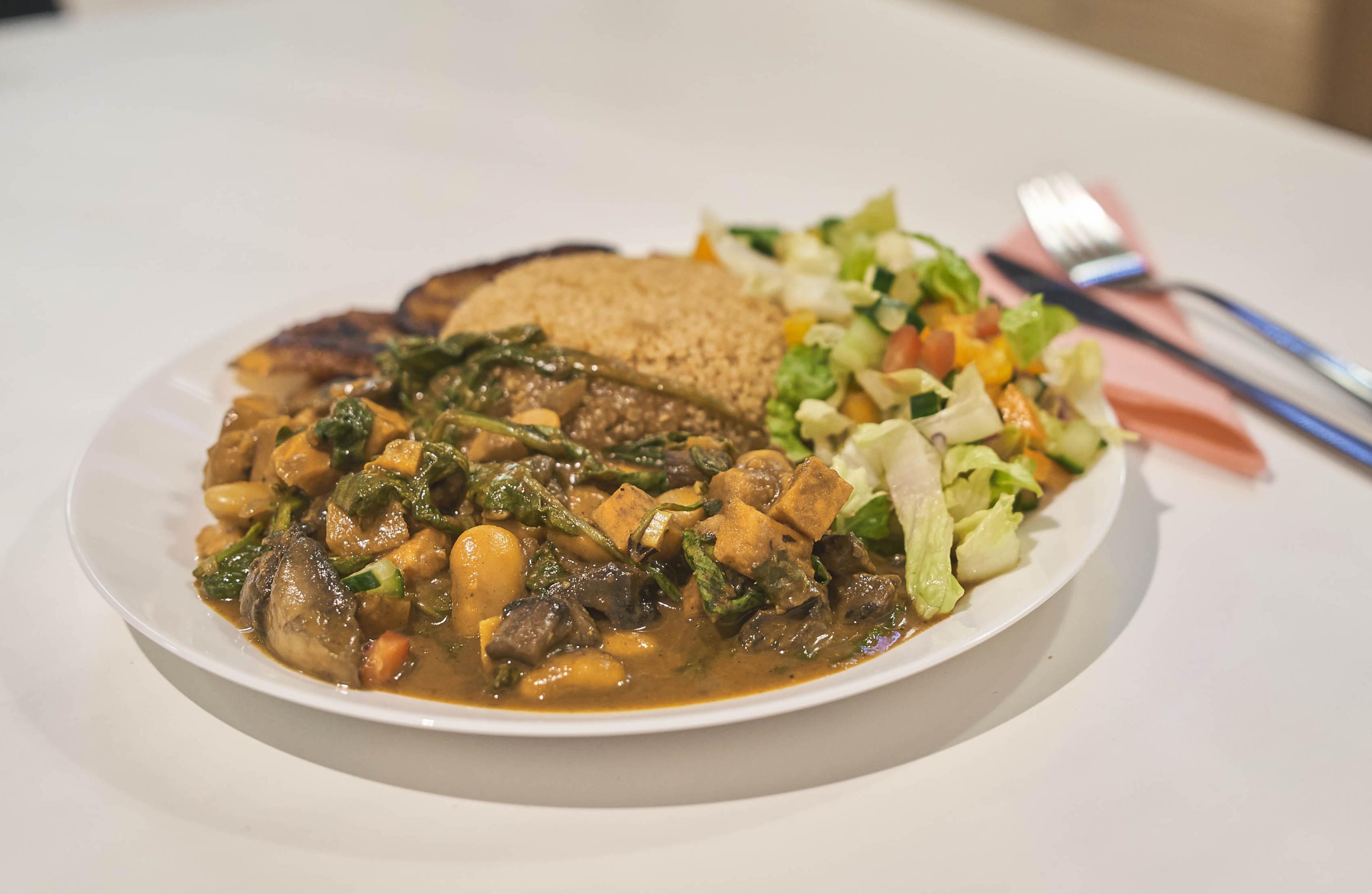 Best Afro-Vegan Restaurants in London: Deserted Cactus in Peckham