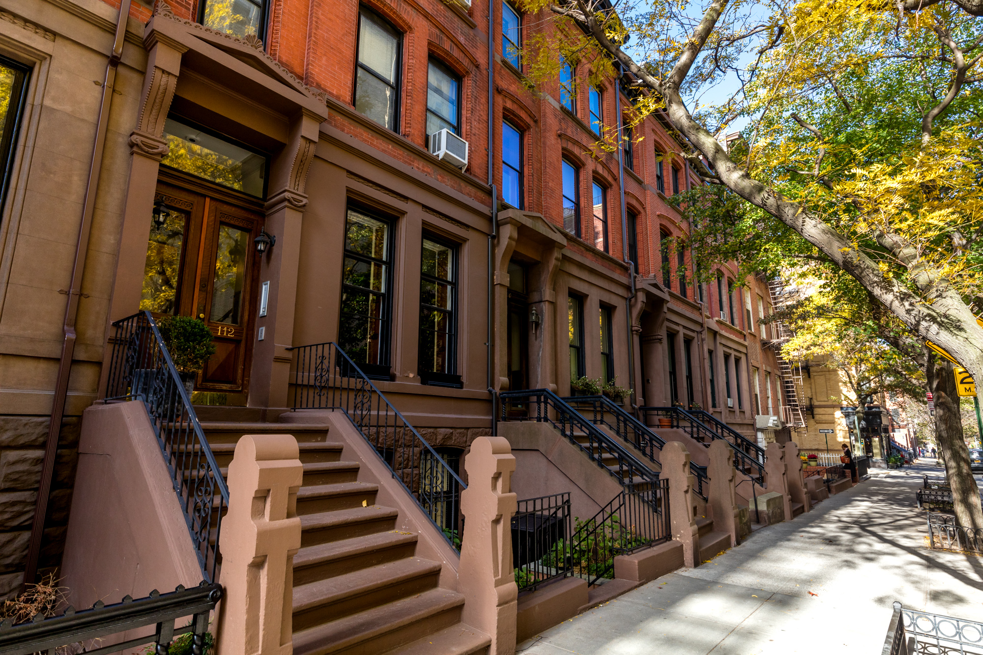 Brooklyn Heights street scene