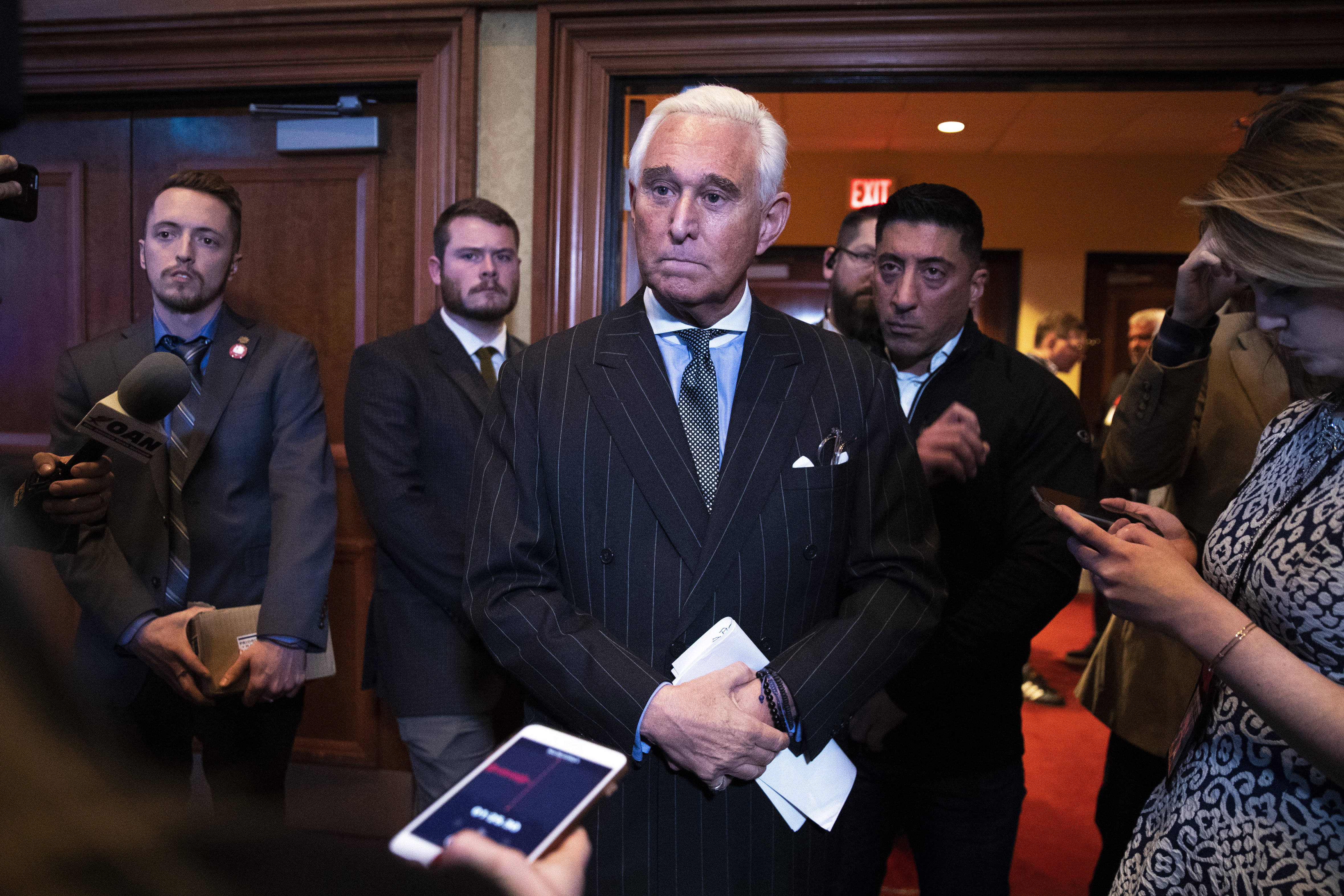 Roger Stone Addresses American Priority Conference In Washington DC
