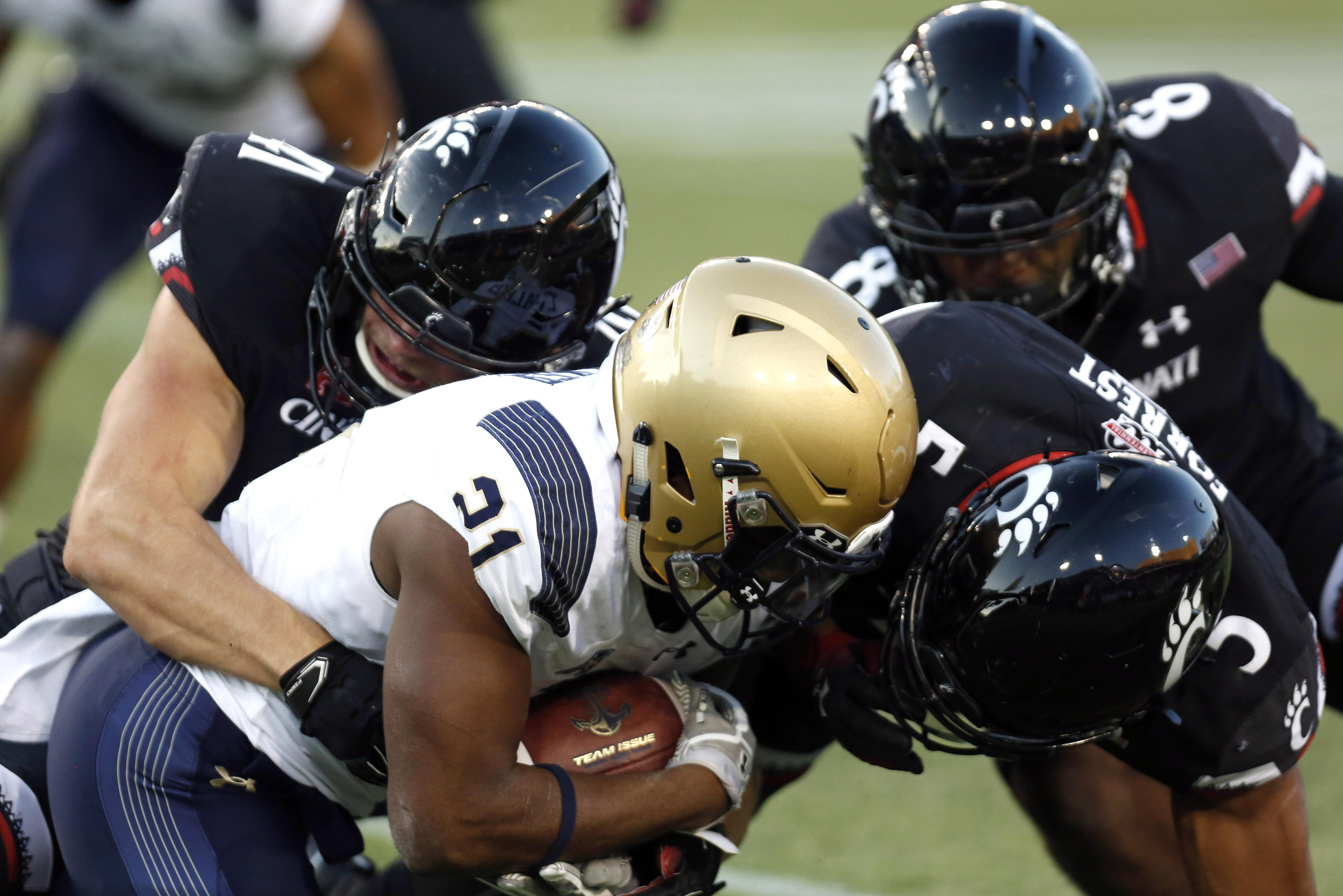 NCAA Football: Navy at Cincinnati