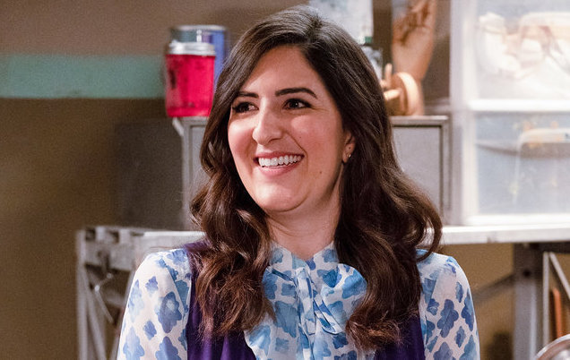 close up of janet in good place