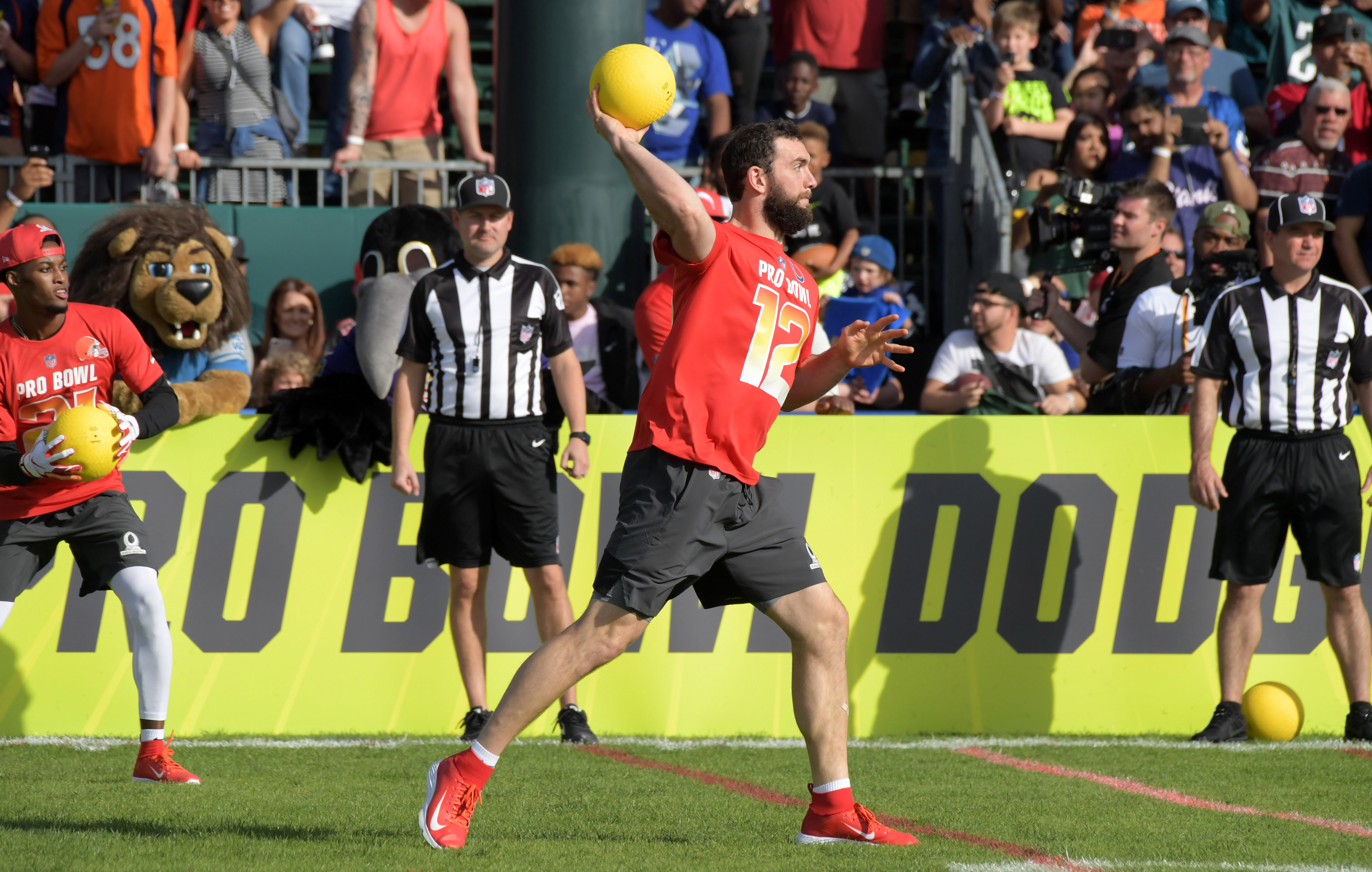 ee346729e1f The Pro Bowl should just be giant game of dodgeball instead