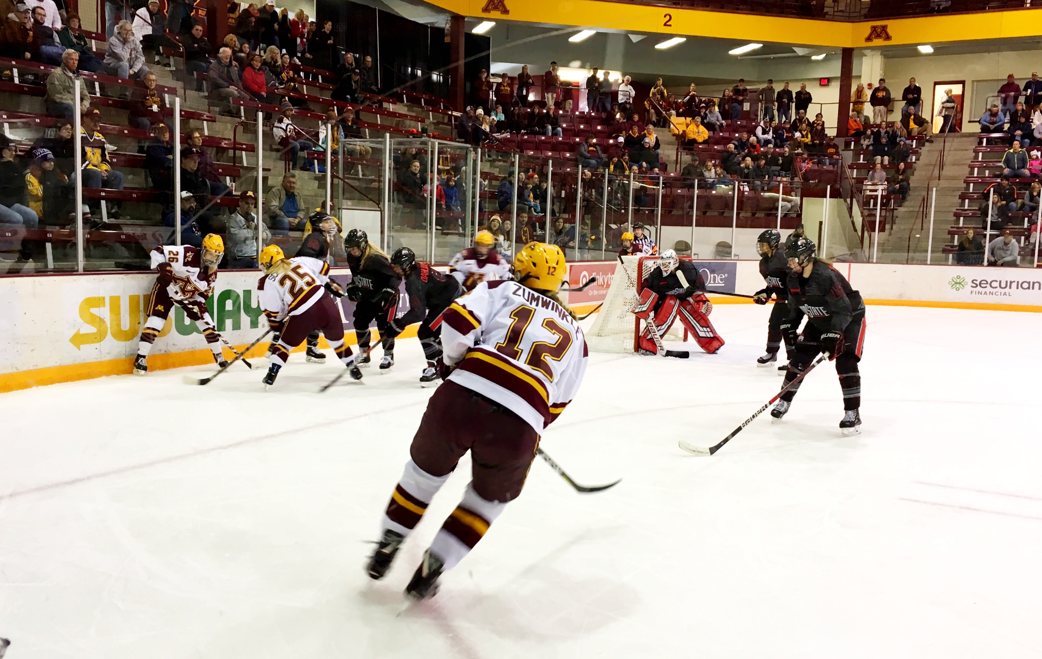 WCHA: Minnesota Gopher Women Cracked Open Ohio State Buckeyes