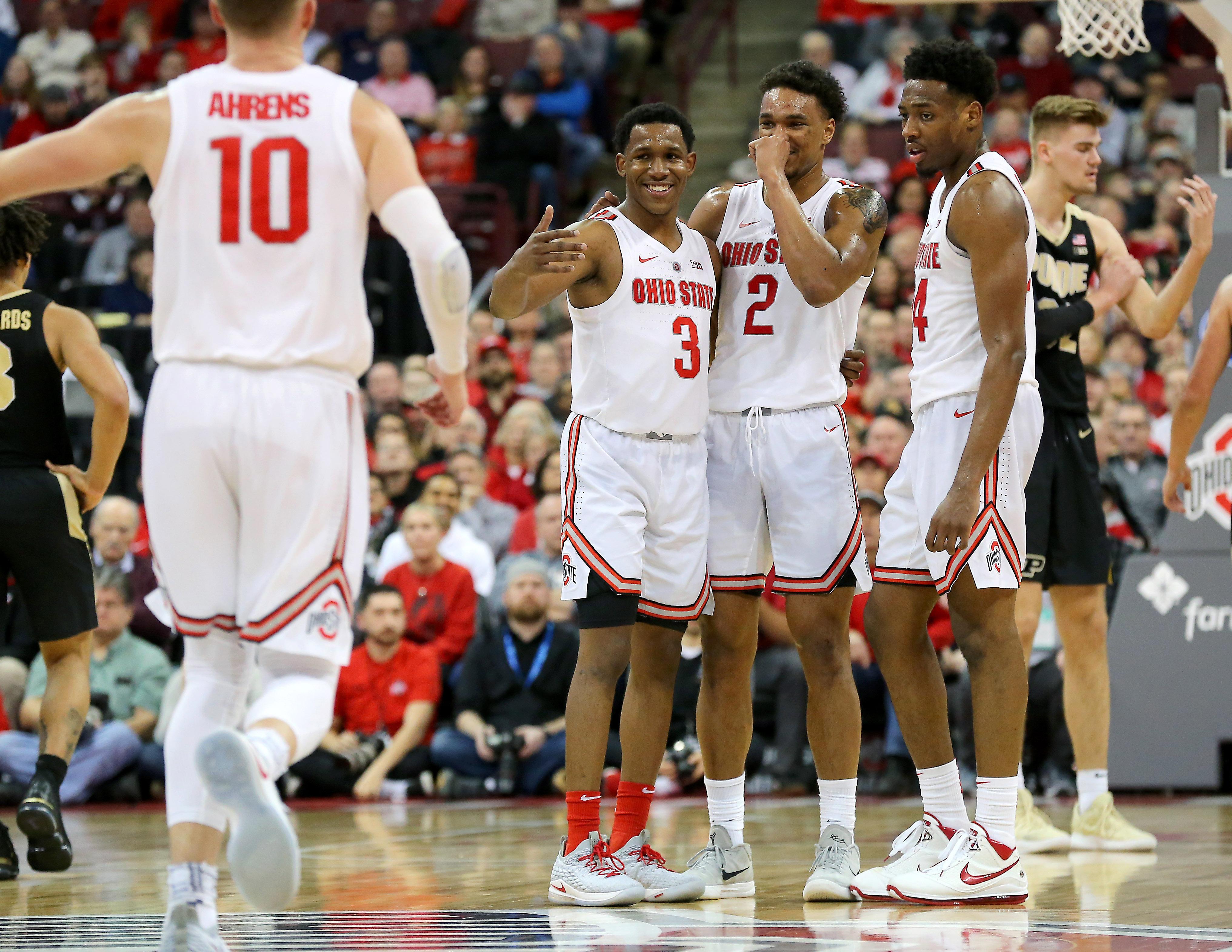 NCAA Basketball: Purdue at Ohio State
