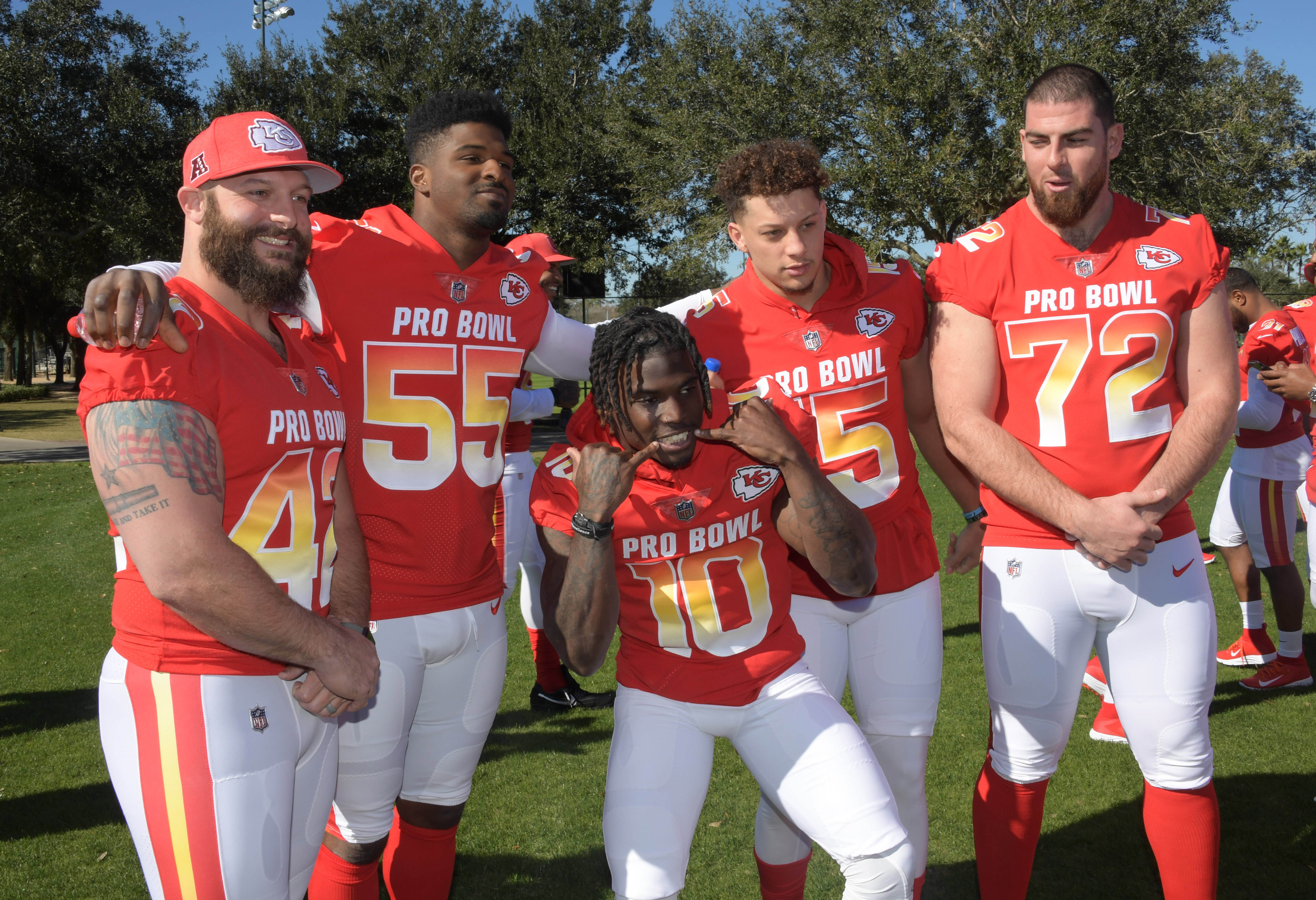 1275472345b Day 3  Chiefs at the Pro Bowl